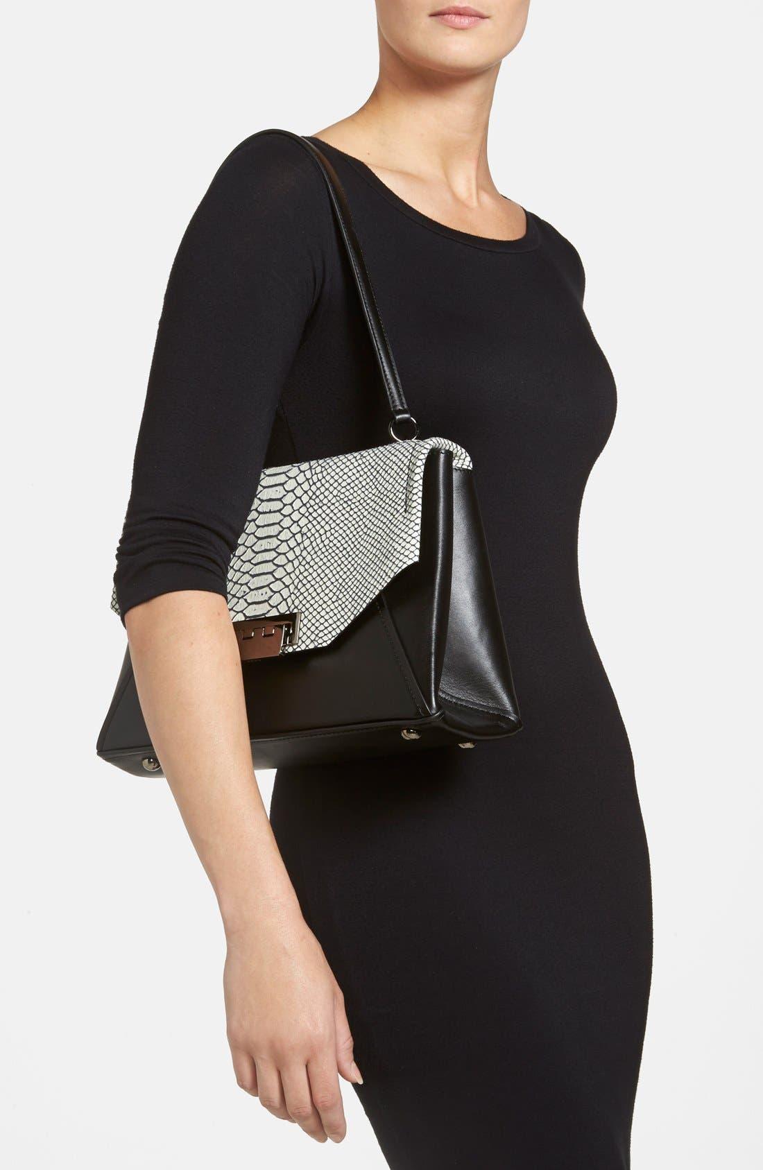 Alternate Image 2  - ZAC Zac Posen 'Eartha' Envelope Flap Shoulder Bag