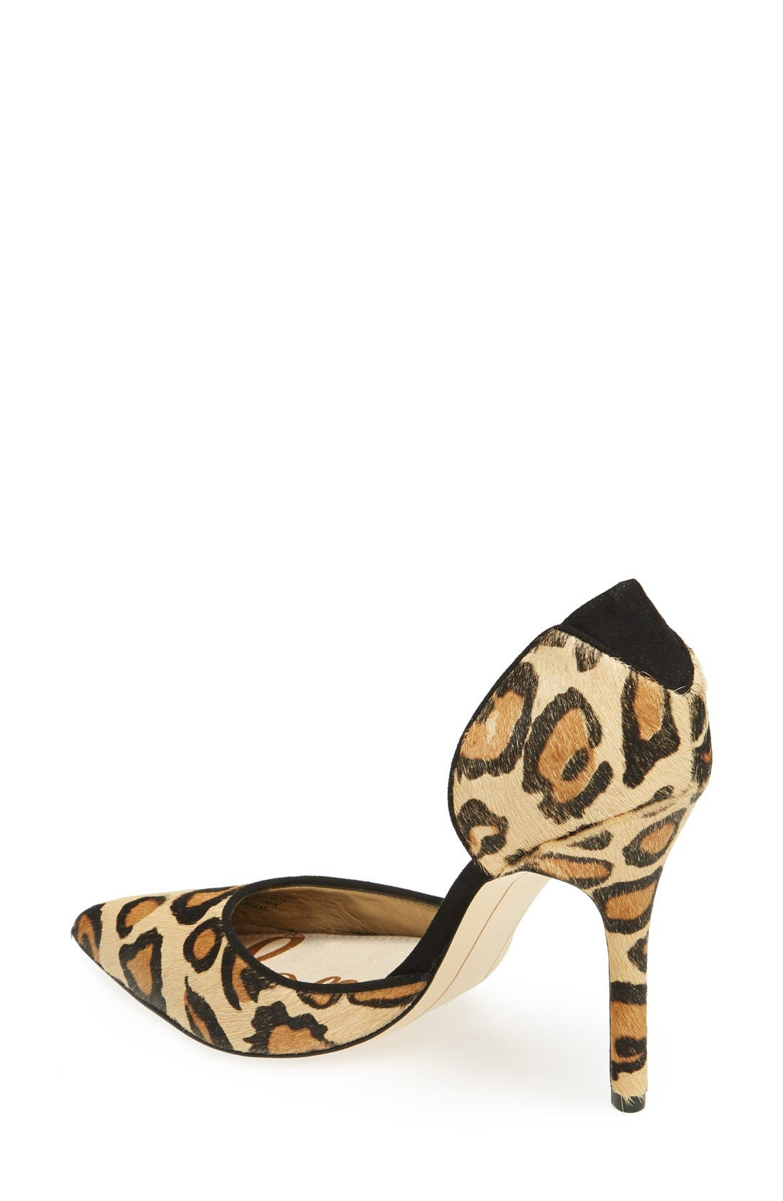 Alternate Image 2  - Sam Edelman 'Delilah' Calf Hair d'Orsay Pump (Women)