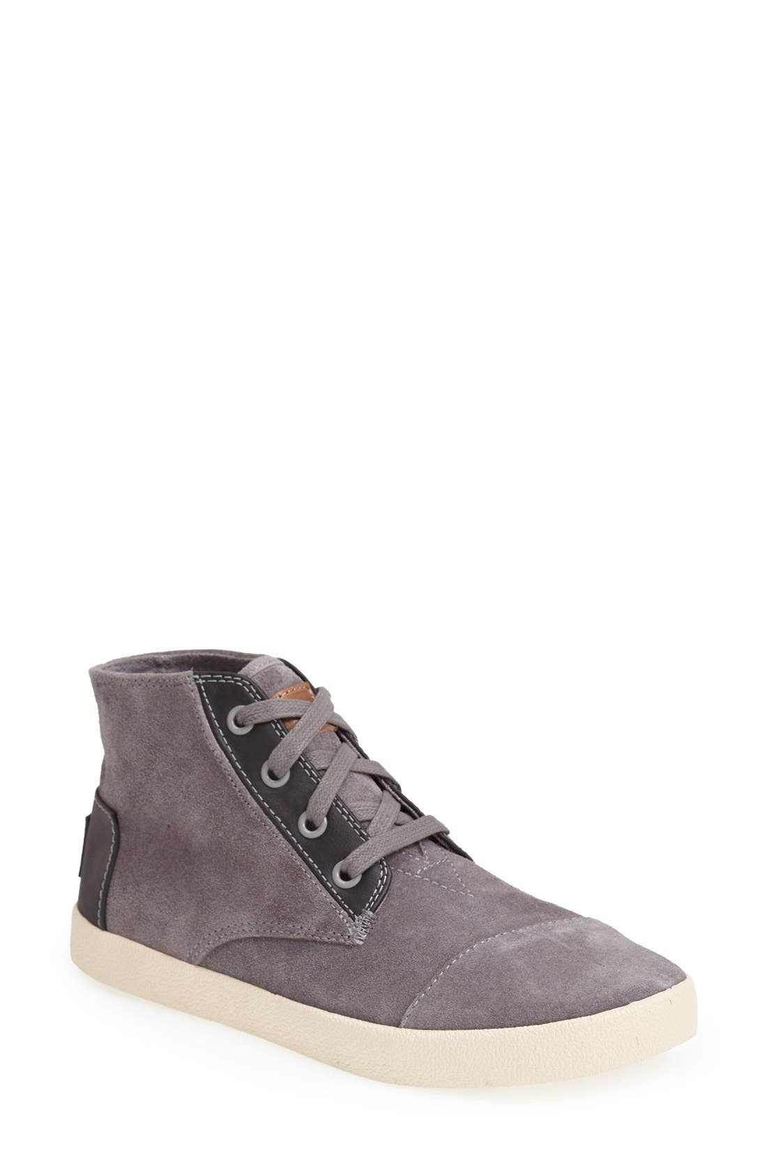 Alternate Image 1 Selected - TOMS 'Paseo - High' Sneaker (Women)