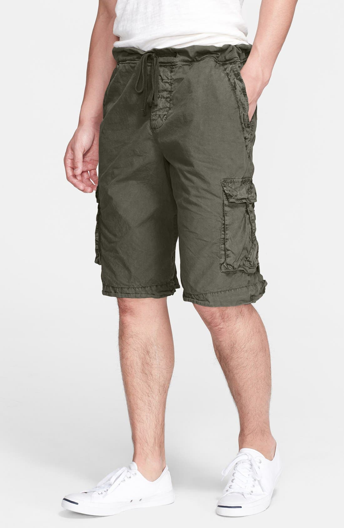 Alternate Image 1 Selected - James Perse Drawstring Cargo Shorts
