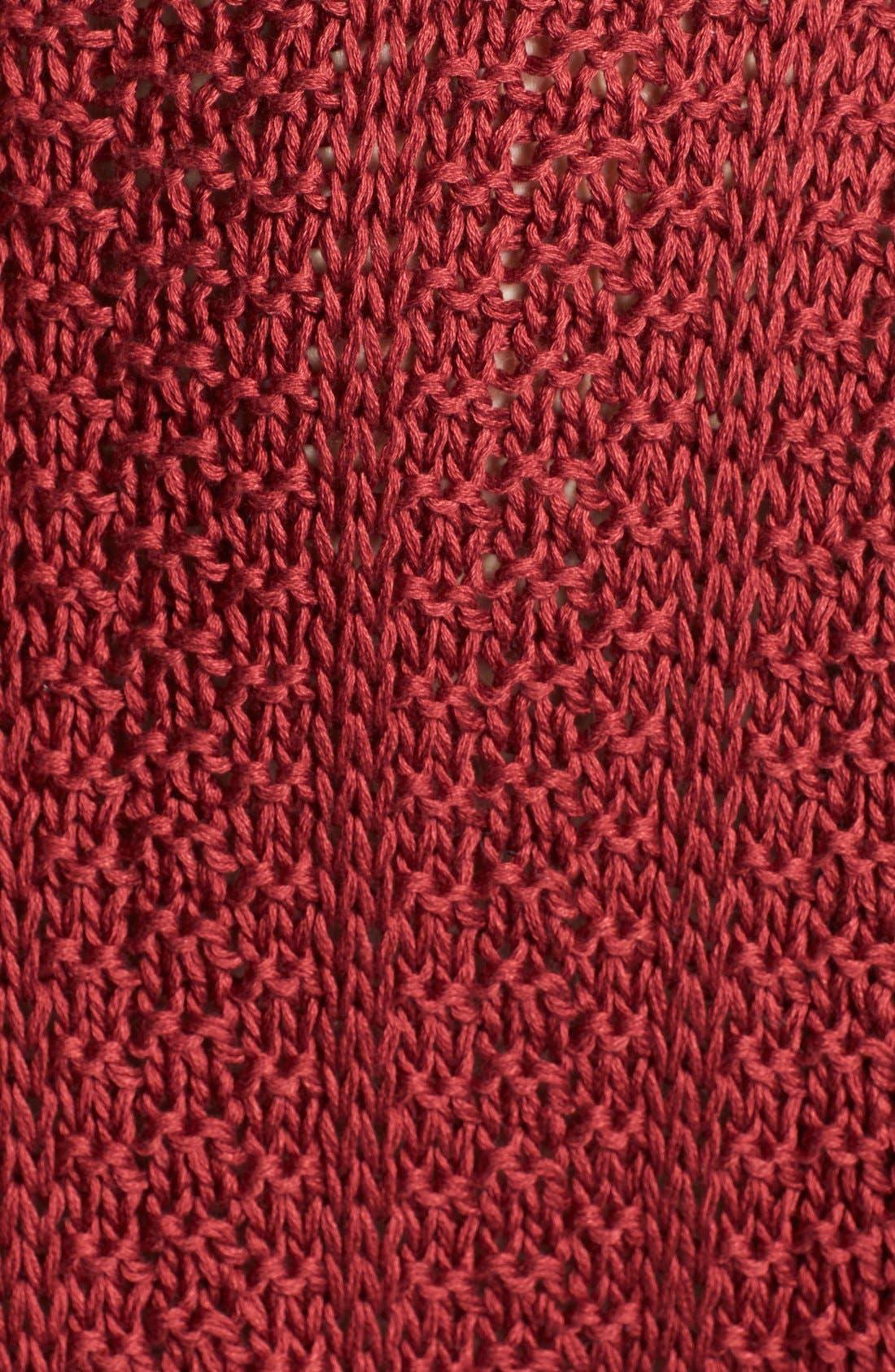 Alternate Image 3  - Vince Mercerized Textured Sweater