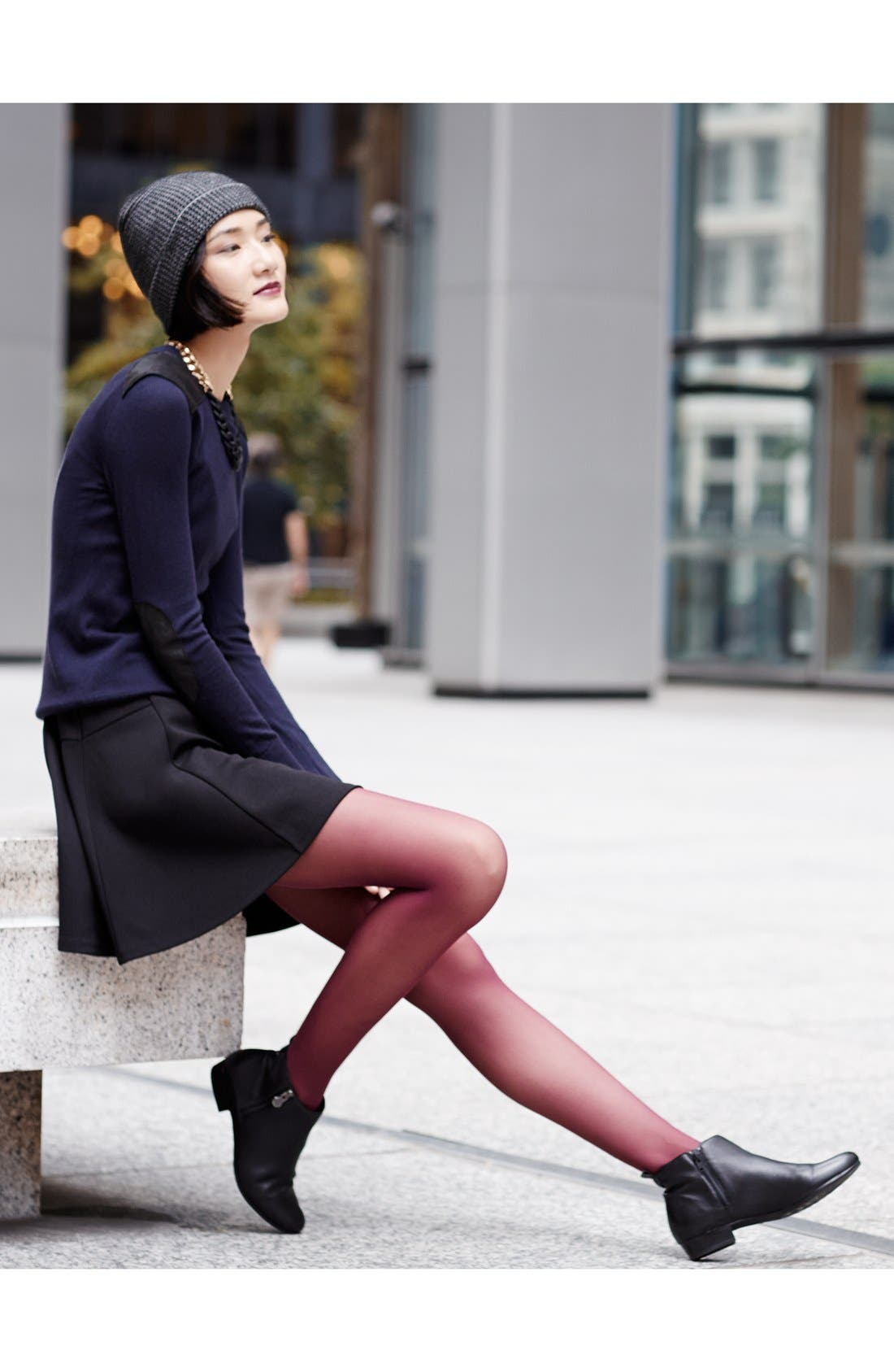 Munro Boot, Halogen® Dress & DKNY Tights