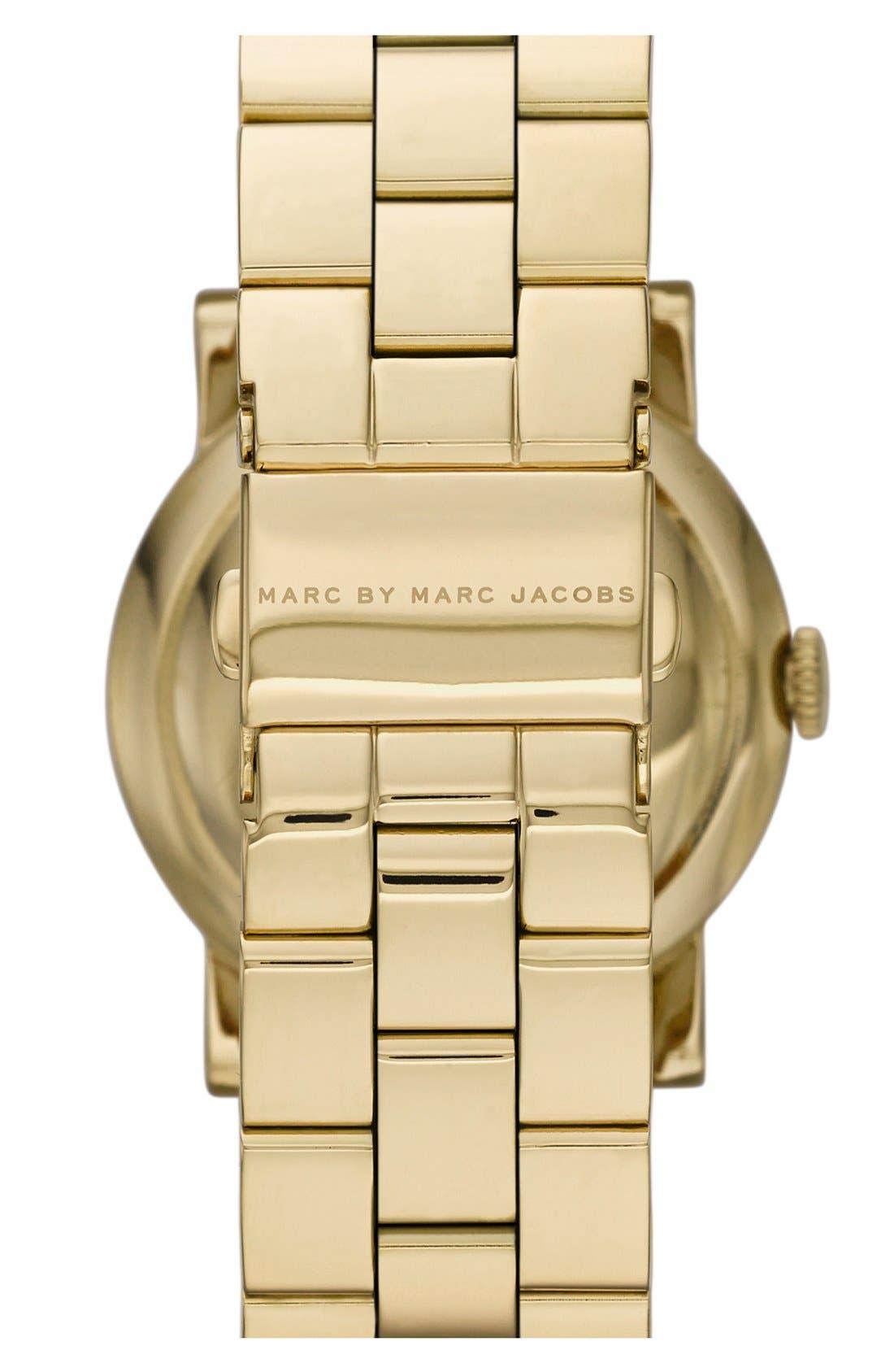 Alternate Image 2  - MARC JACOBS 'Amy' Bracelet Watch, 37mm