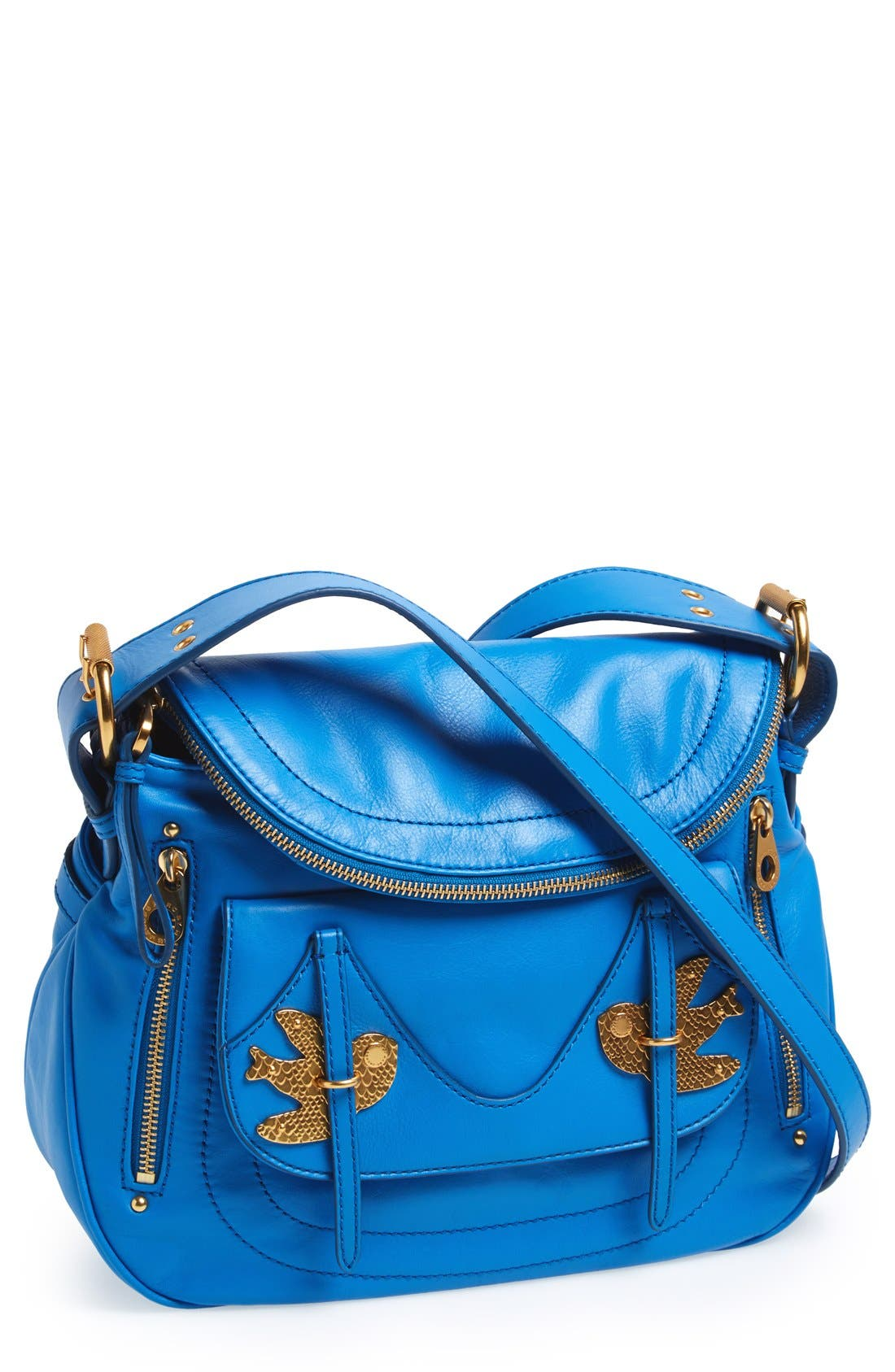 Main Image - MARC BY MARC JACOBS 'Petal to the Metal - Natasha' Flap Crossbody Bag, Medium