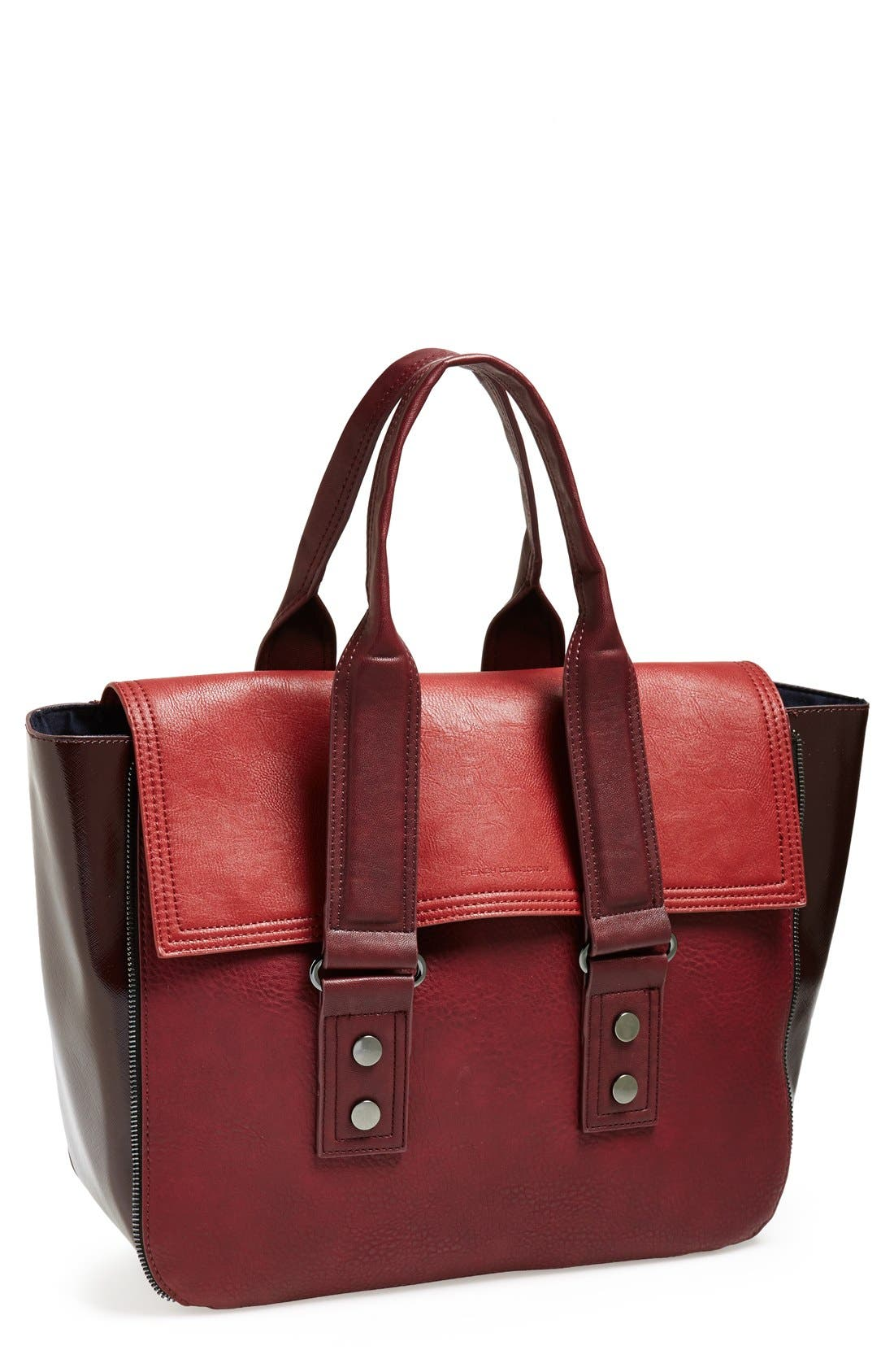 Alternate Image 1 Selected - French Connection 'Elite' Faux Leather Tote