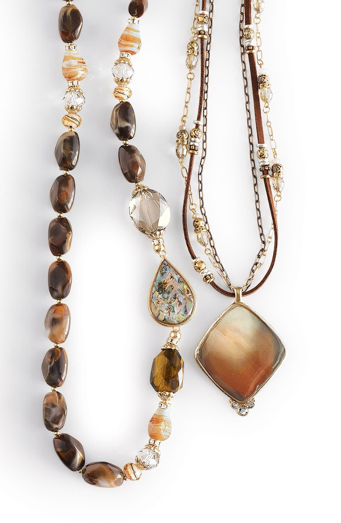 Alternate Image 4  - Sara Bella Bead Necklace