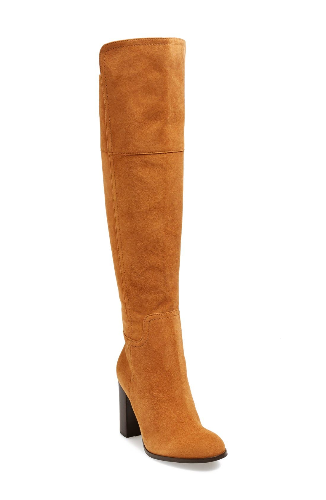 Alternate Image 1 Selected - Pour la Victoire 'Talia' Suede Tall Boot (Women)