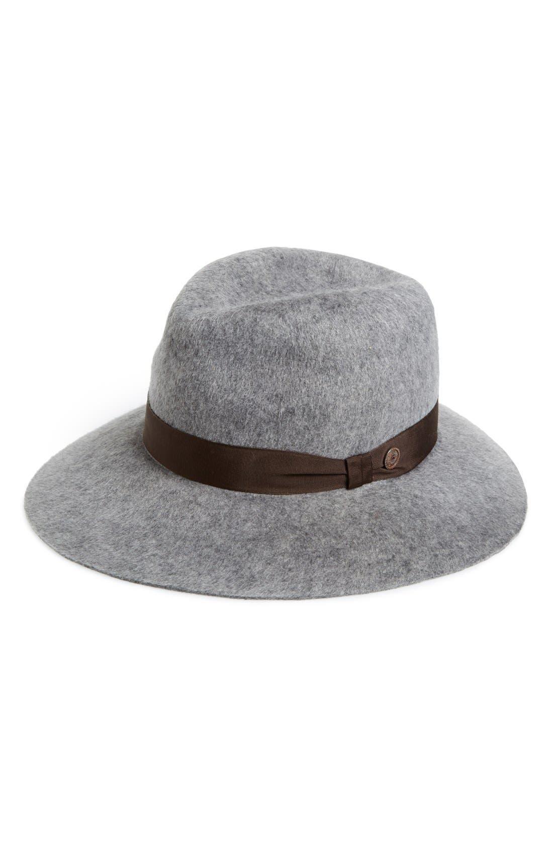 Main Image - Grace Hats 'Shag' Wide Brim Wool Hat