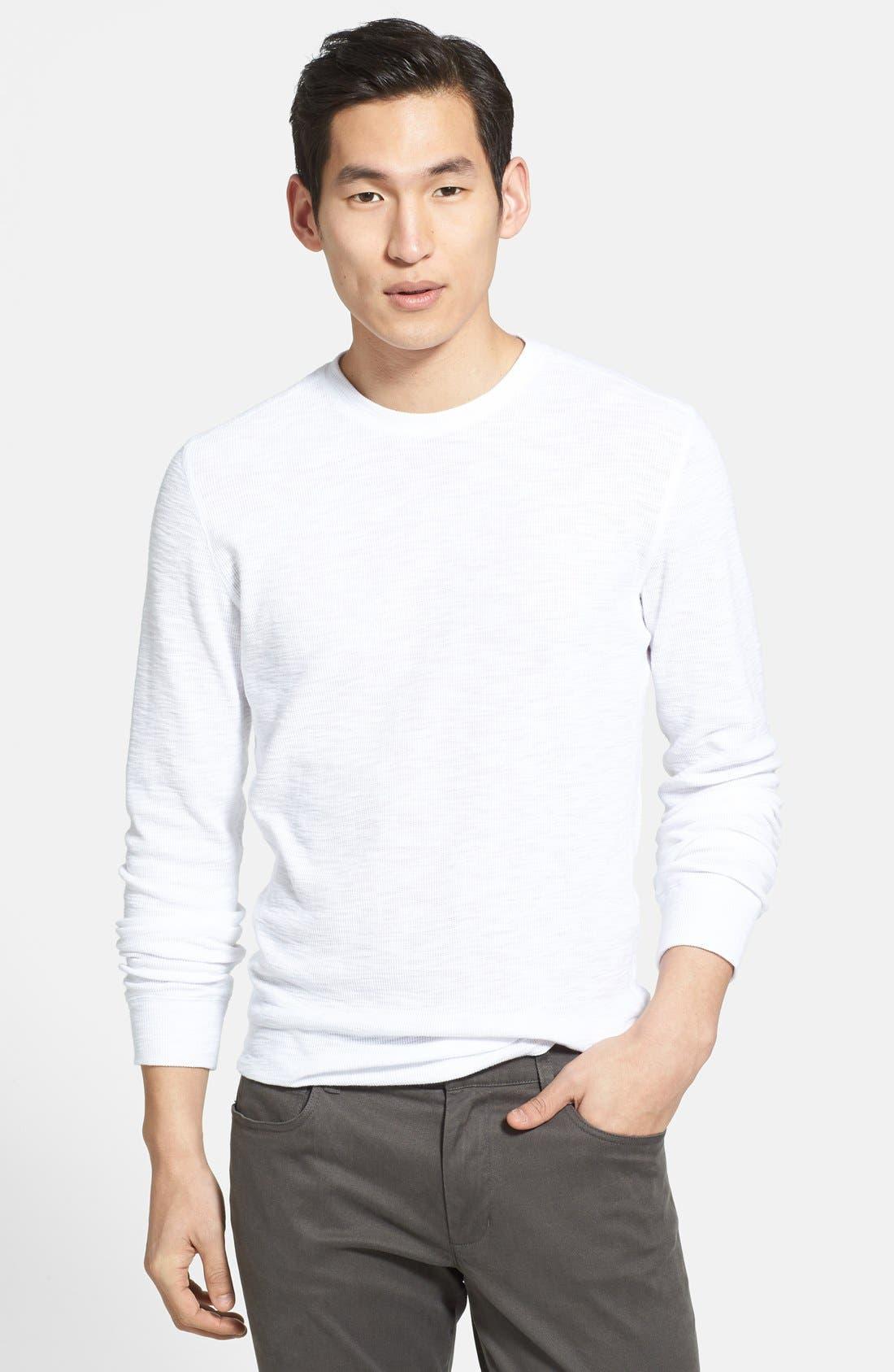 Main Image - Vince Slubbed Thermal T-Shirt