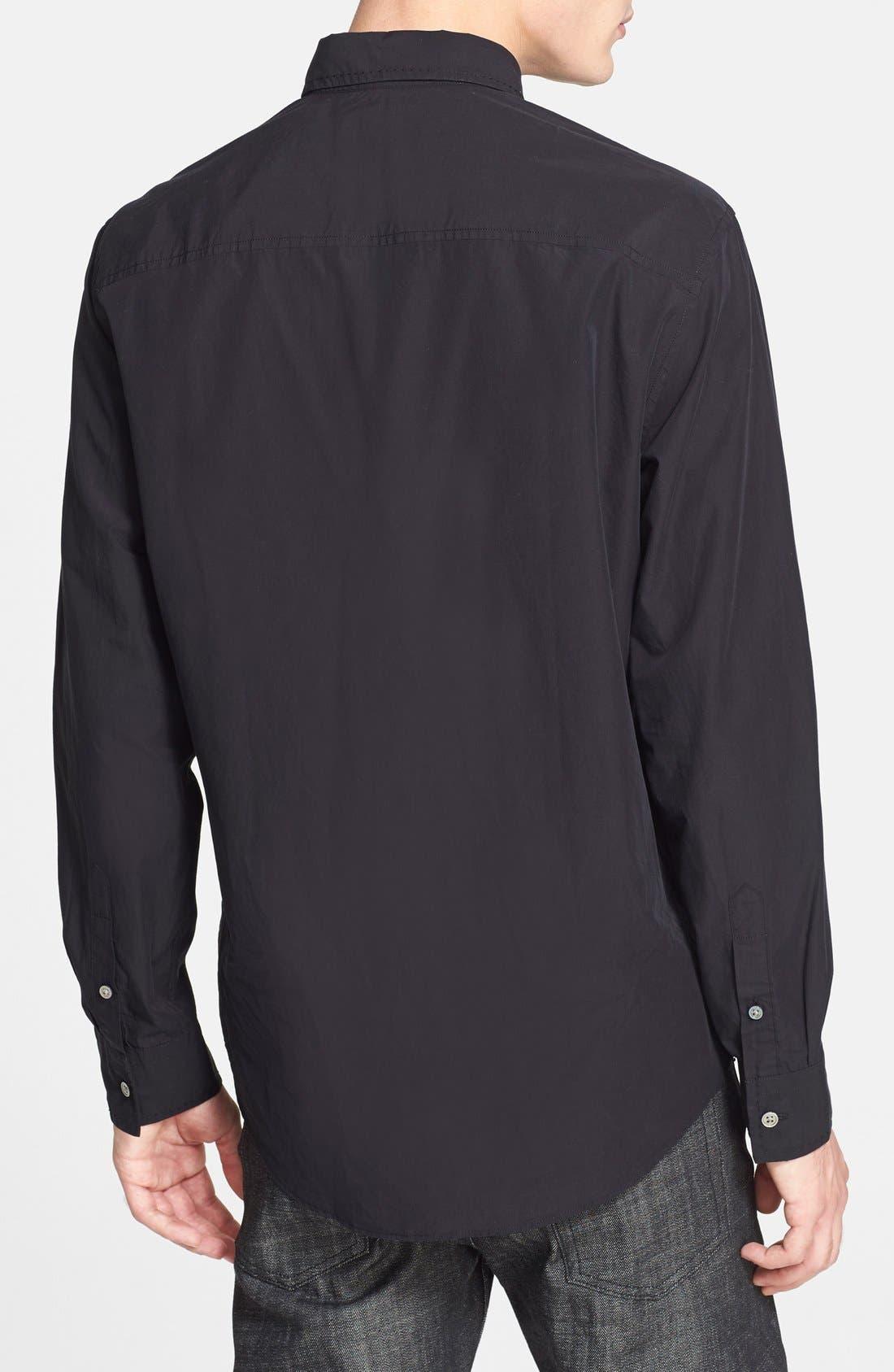 Alternate Image 3  - John Varvatos Collection Extra Trim Fit Sport Shirt