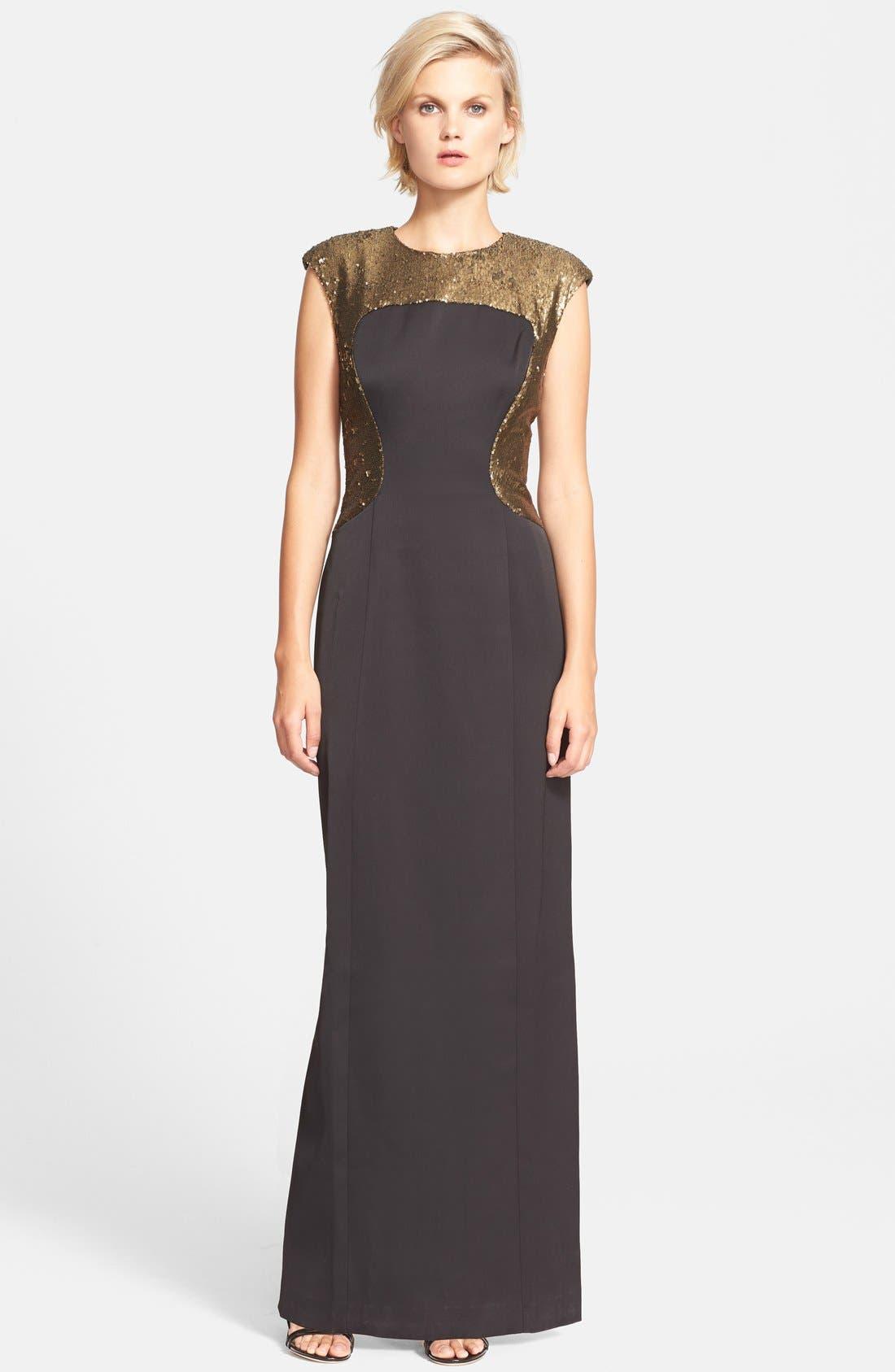 Alternate Image 1 Selected - Ted Baker London 'Aroha' Embellished Maxi Dress