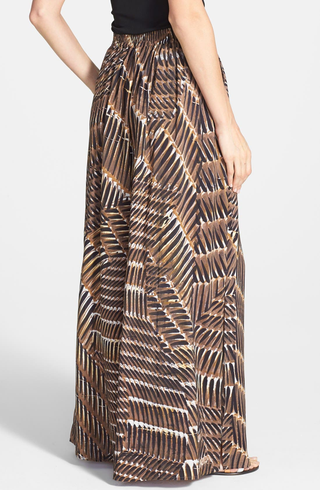 Alternate Image 2  - NIC+ZOE 'Between the Lines' Maxi Skirt (Regular & Petite)