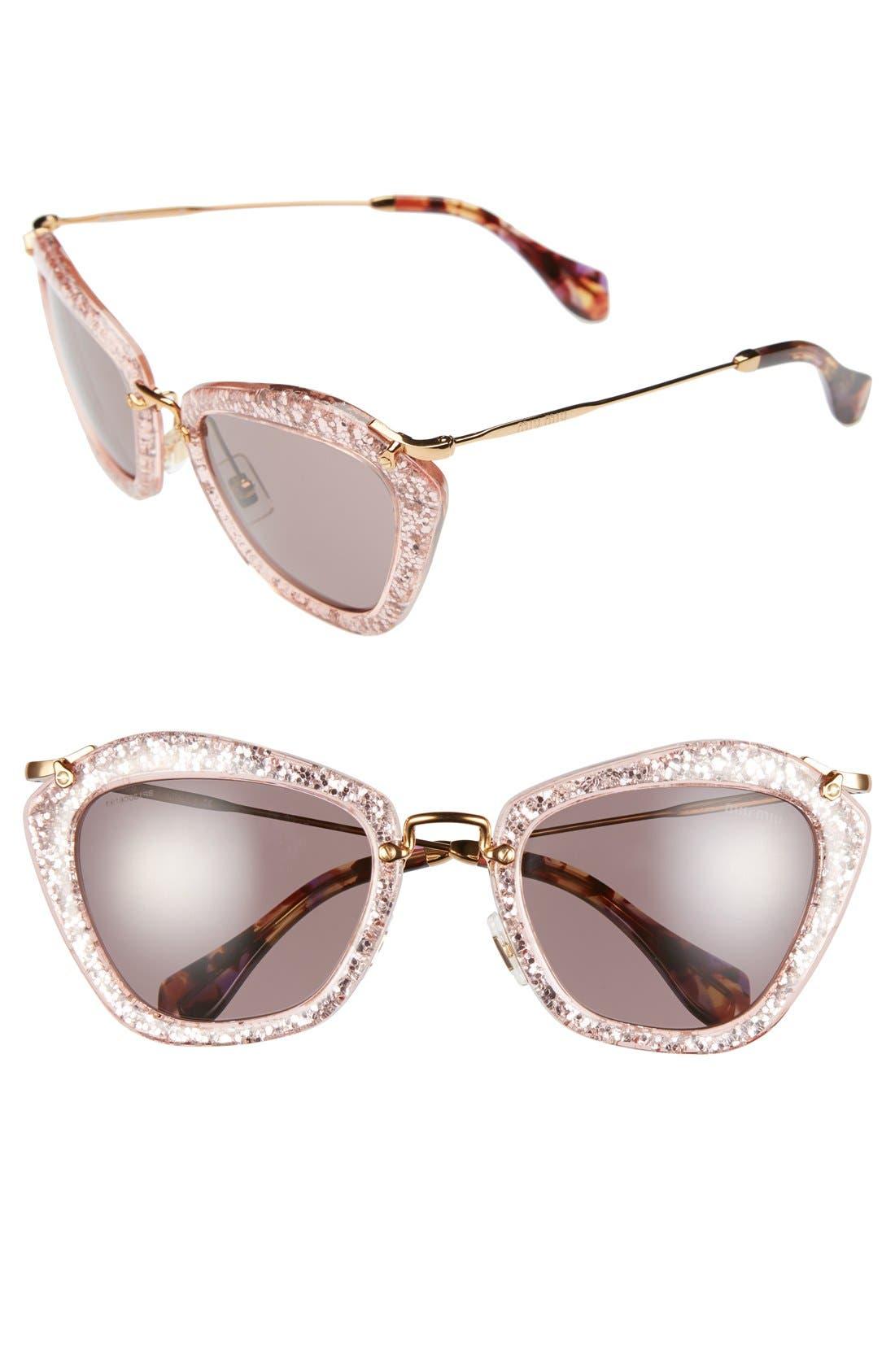 Alternate Image 1 Selected - Miu Miu 55mm Sunglasses