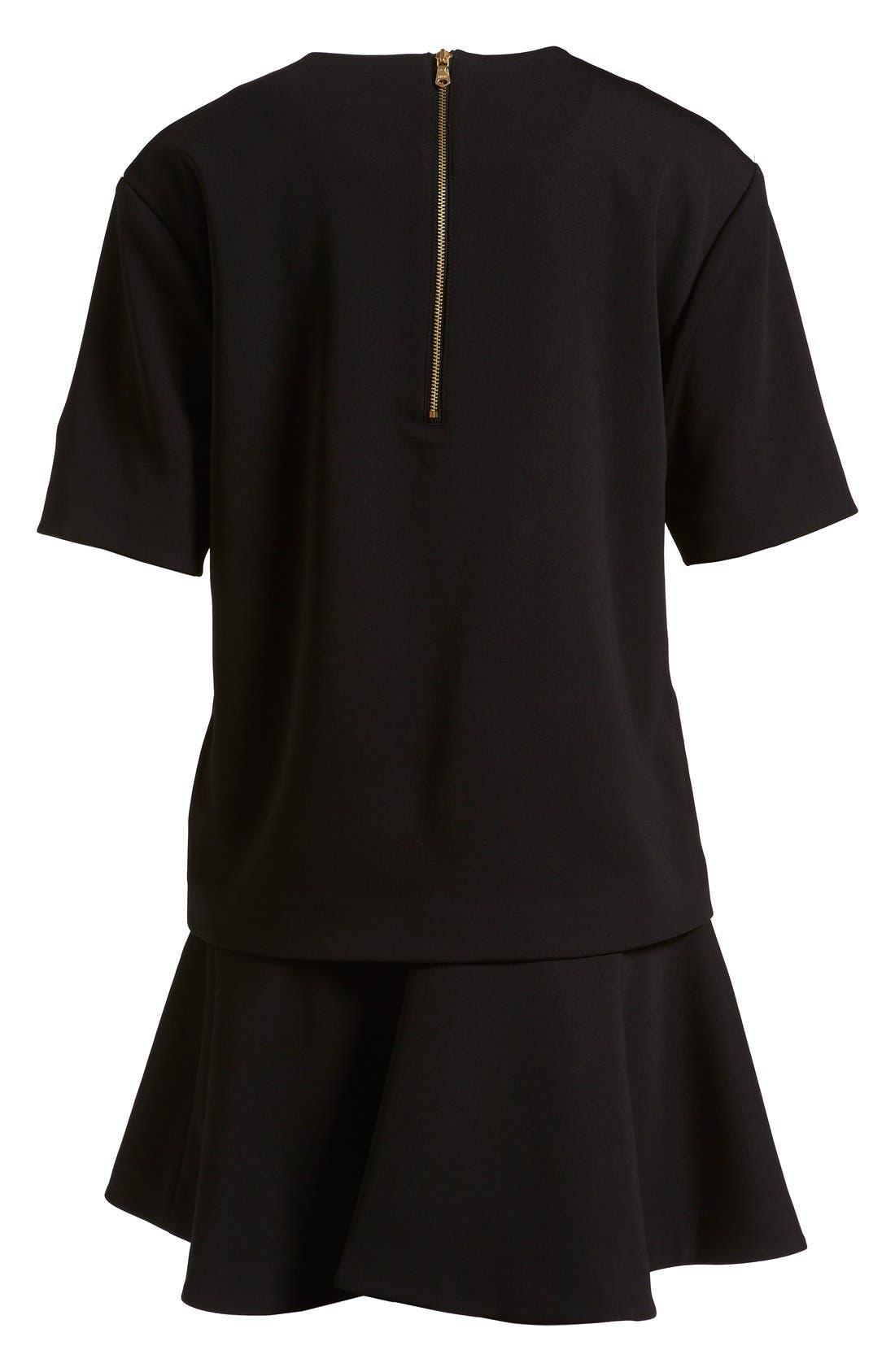 Alternate Image 5  - izzue Bonded T-Shirt Dress (Women)