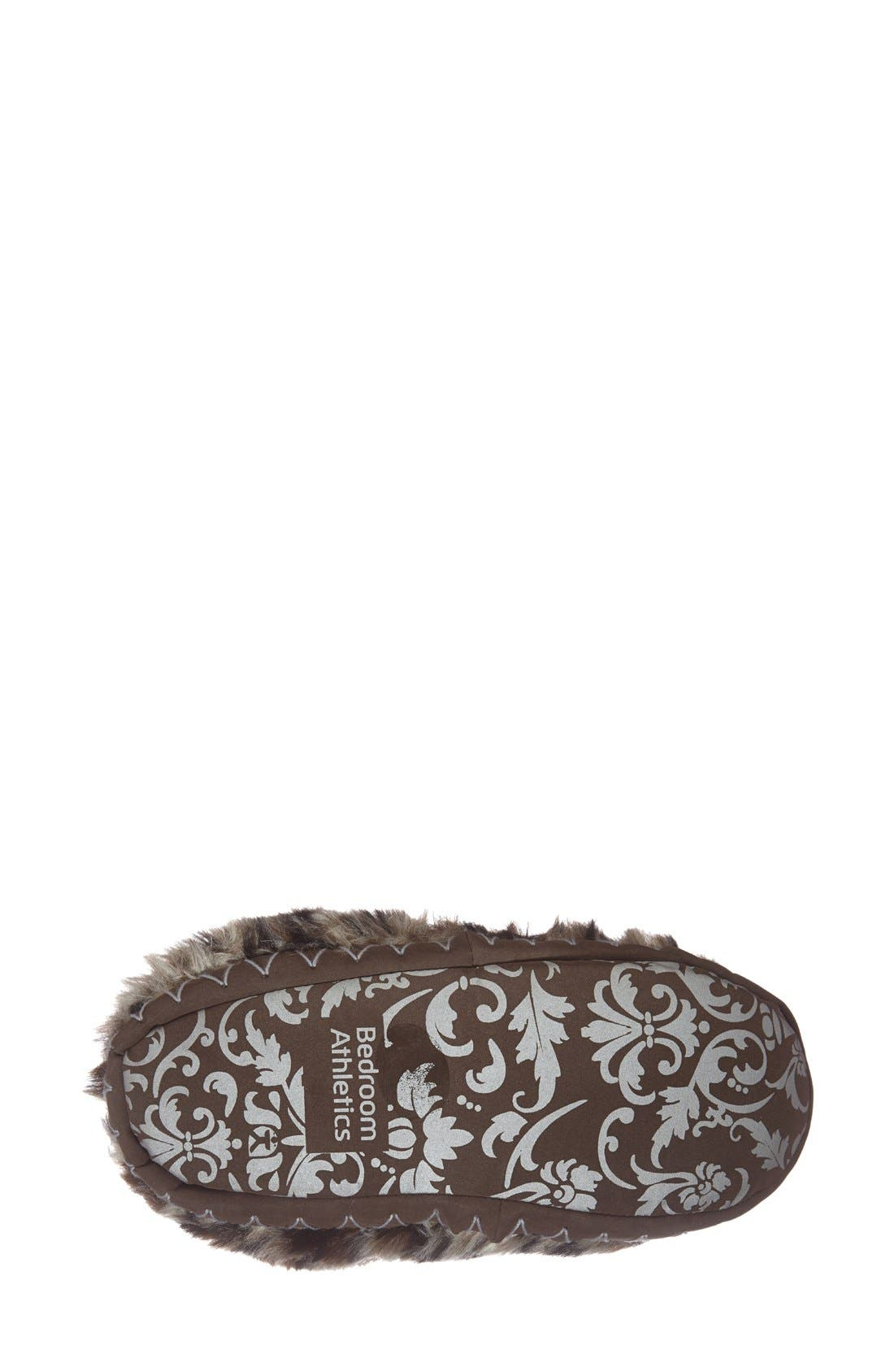 Alternate Image 4  - Bedroom Athletics 'Cole' Faux Fur Slipper Boot (Women)