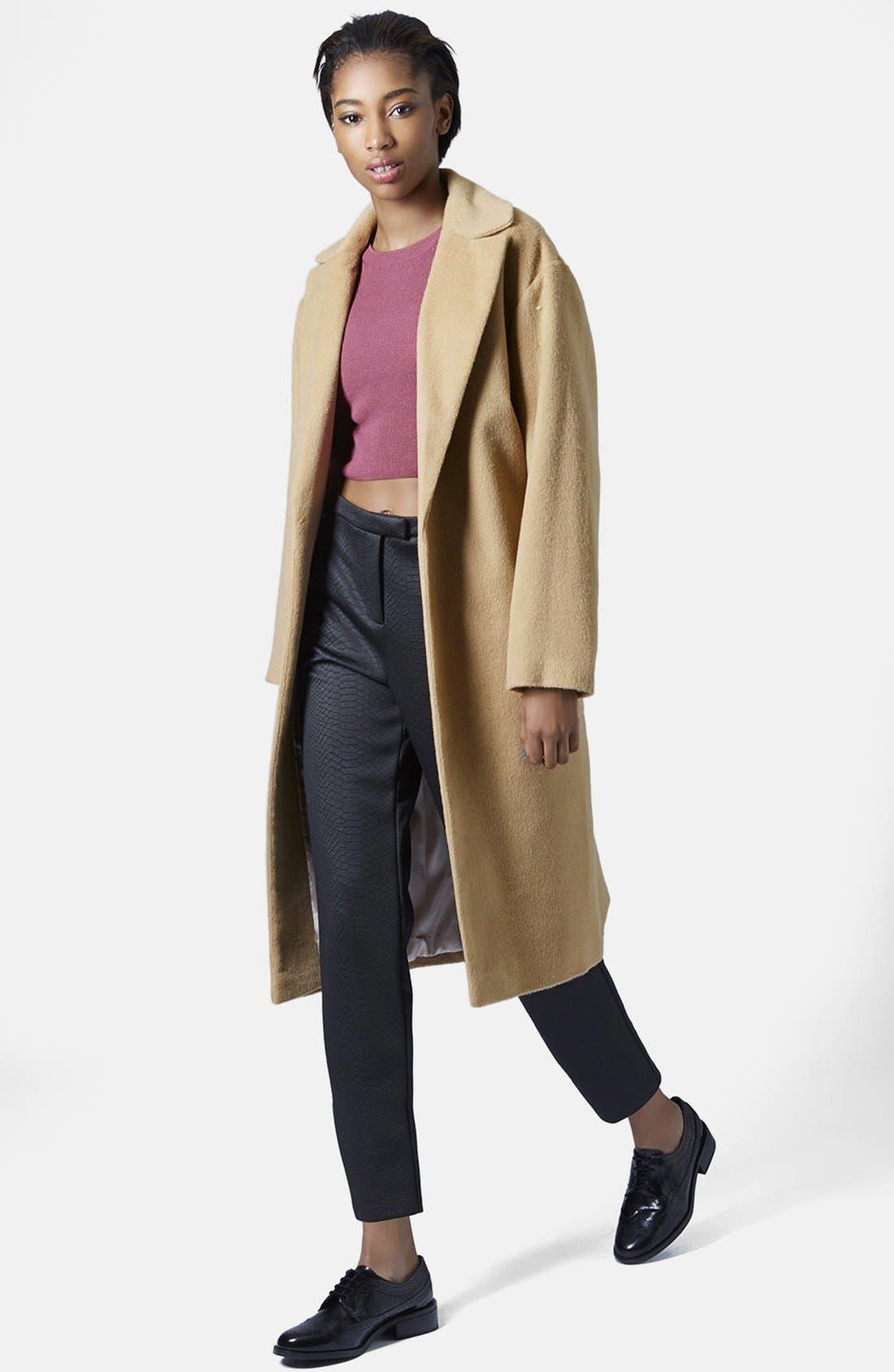 Main Image - Topshop Longline Coat