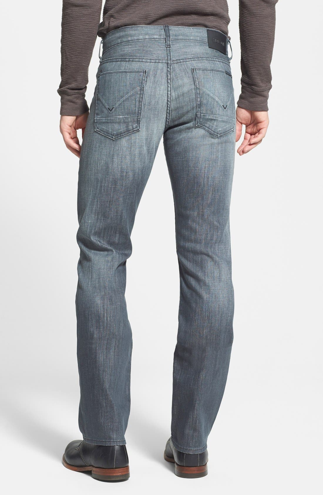 Alternate Image 2  - Hudson Jeans 'Byron' Straight Leg Jeans (Virage)