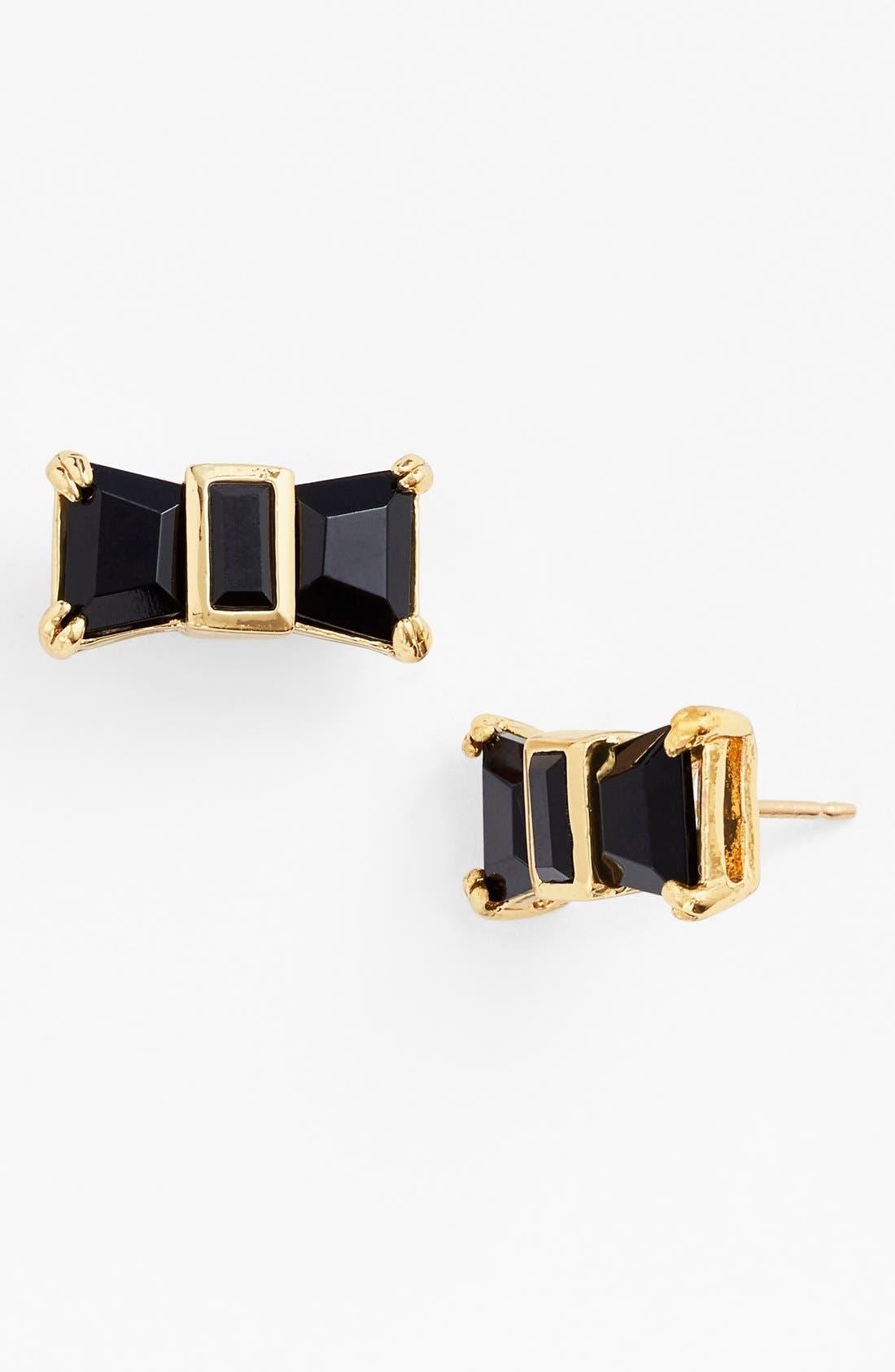 Alternate Image 1 Selected - kate spade new york 'jackpot jewels' bow stud earrings