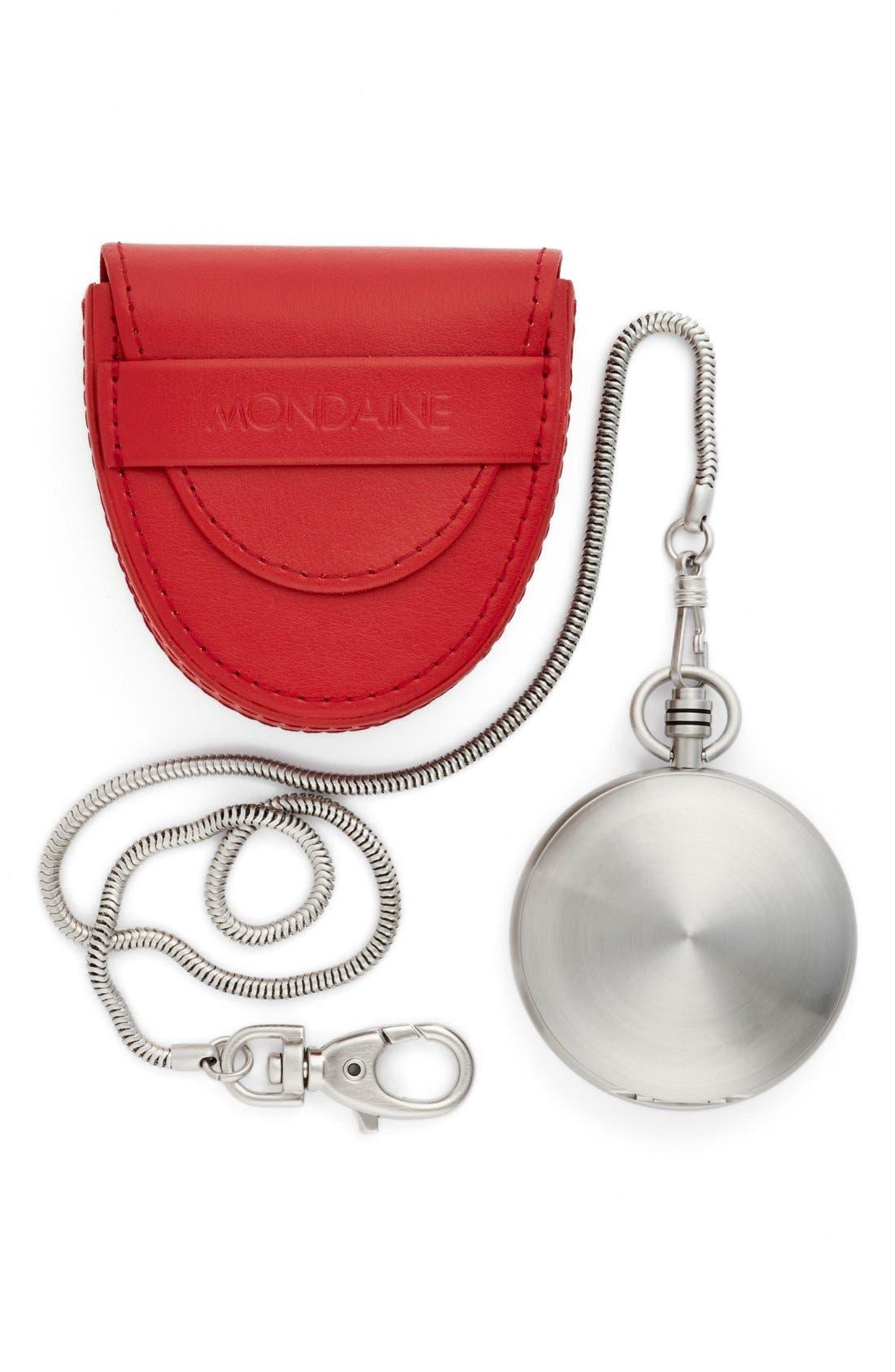 Alternate Image 4  - Mondaine 'Savonnette II' Pocket Watch, 51mm