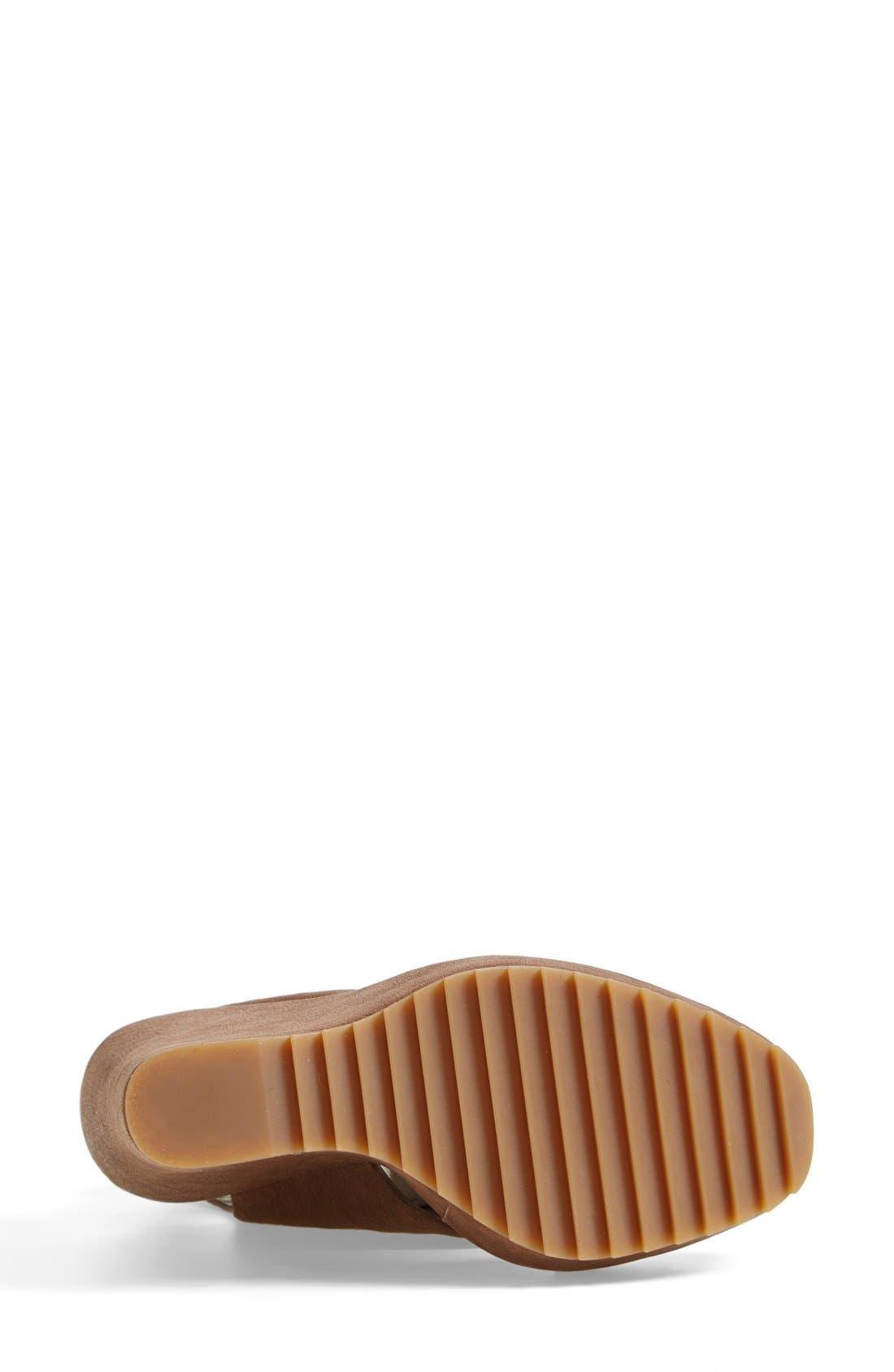 Alternate Image 4  - Vince Camuto 'Gevara' Leather Platform Wedge (Women)
