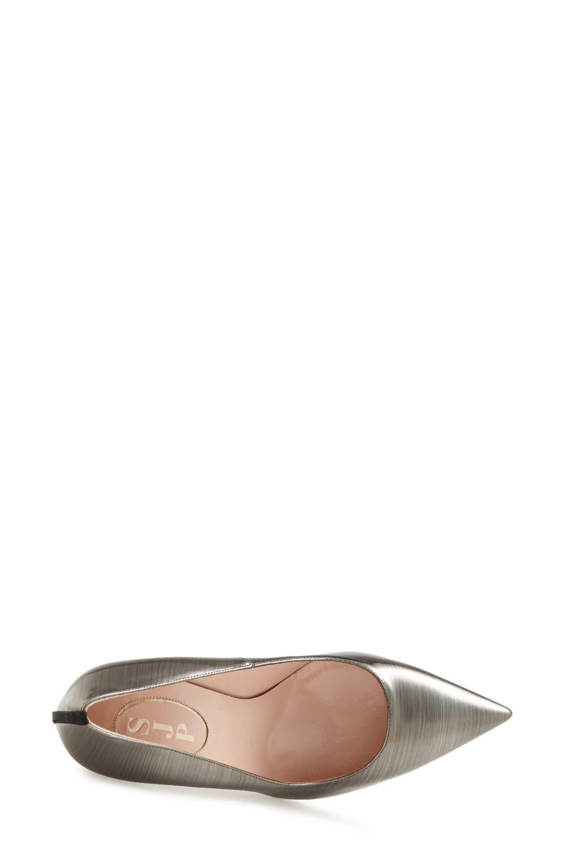 Alternate Image 3  - SJP by Sarah Jessica Parker 'Fawn' Specchio Leather Pump (Women)