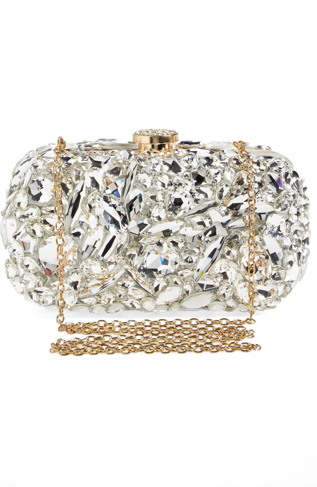 Alternate Image 4  - Natasha Couture 'Ice Crystal' Minaudiere