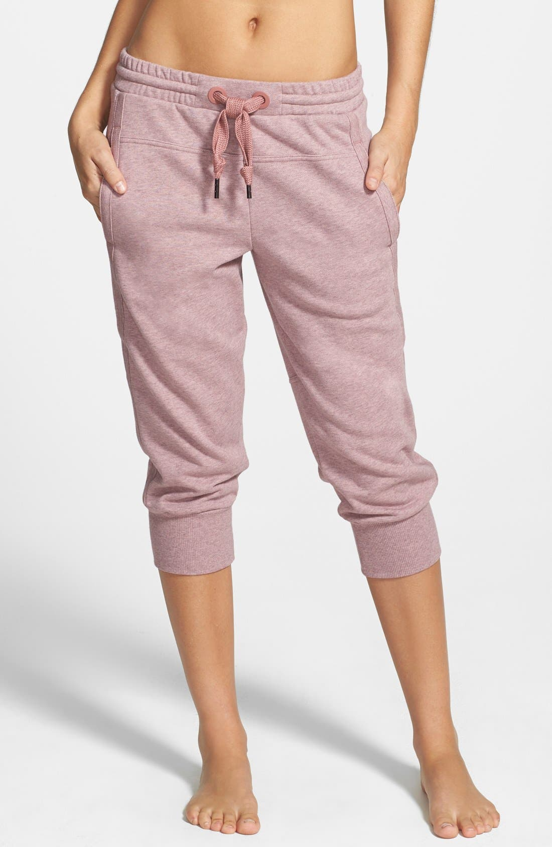 Alternate Image 1 Selected - adidas by Stella McCartney 'Essentials' Capris Sweatpants