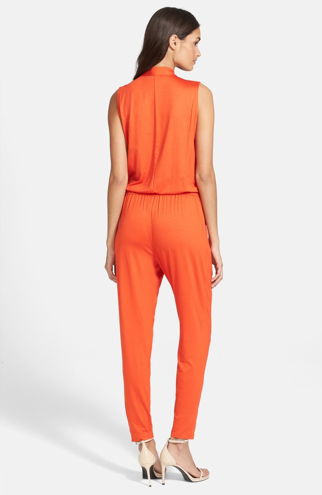 Alternate Image 2  - Trina Turk 'Pauline' Surplice Jumpsuit