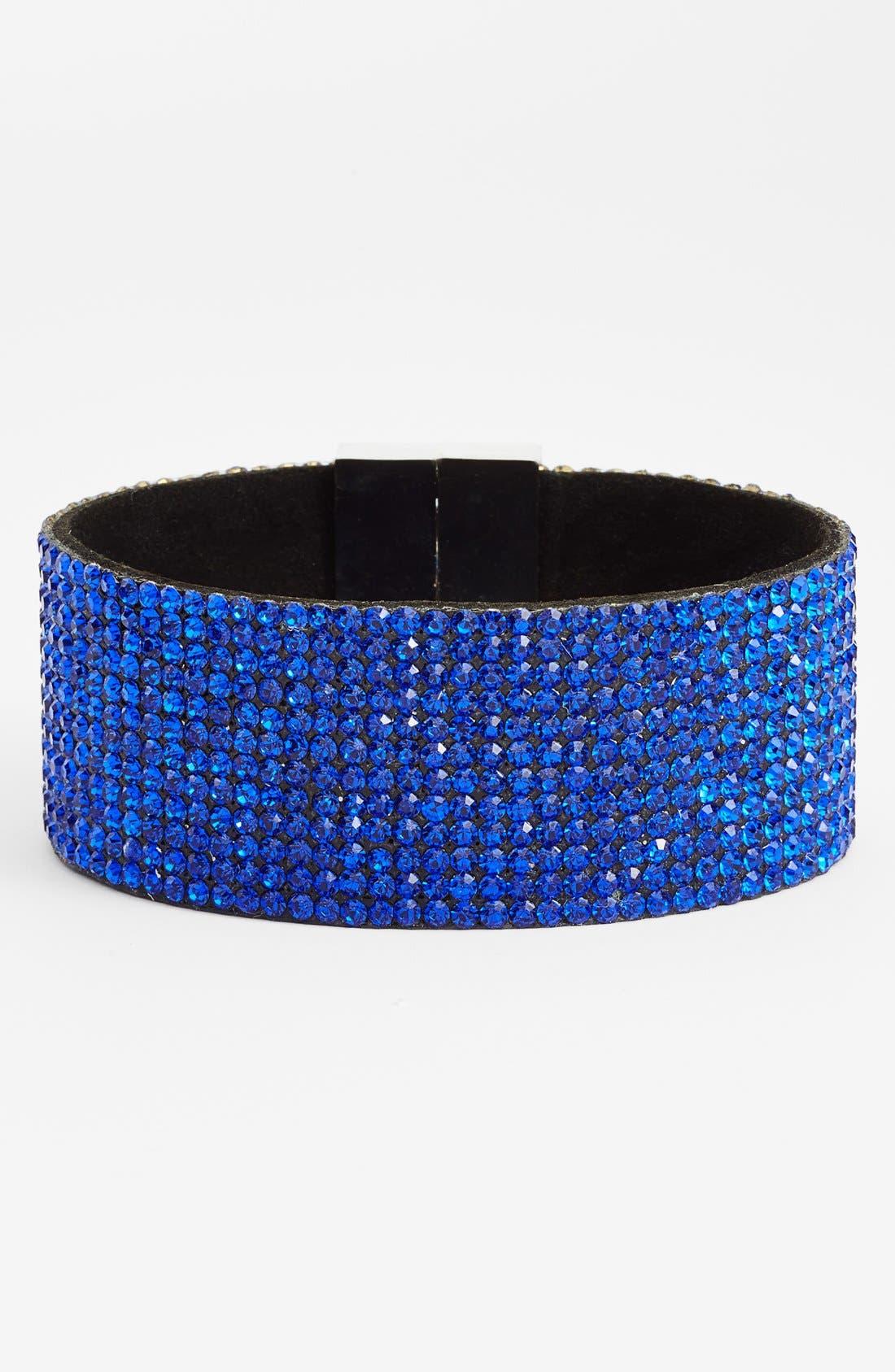 Alternate Image 1 Selected - Natasha Couture 'Dynasty' Magnetic Cuff Bracelet