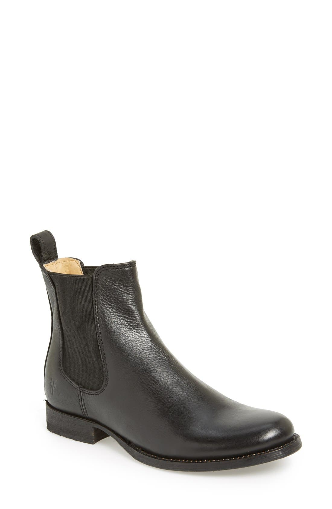 Alternate Image 1 Selected - Frye 'Erin' Leather Chelsea Boot (Women)