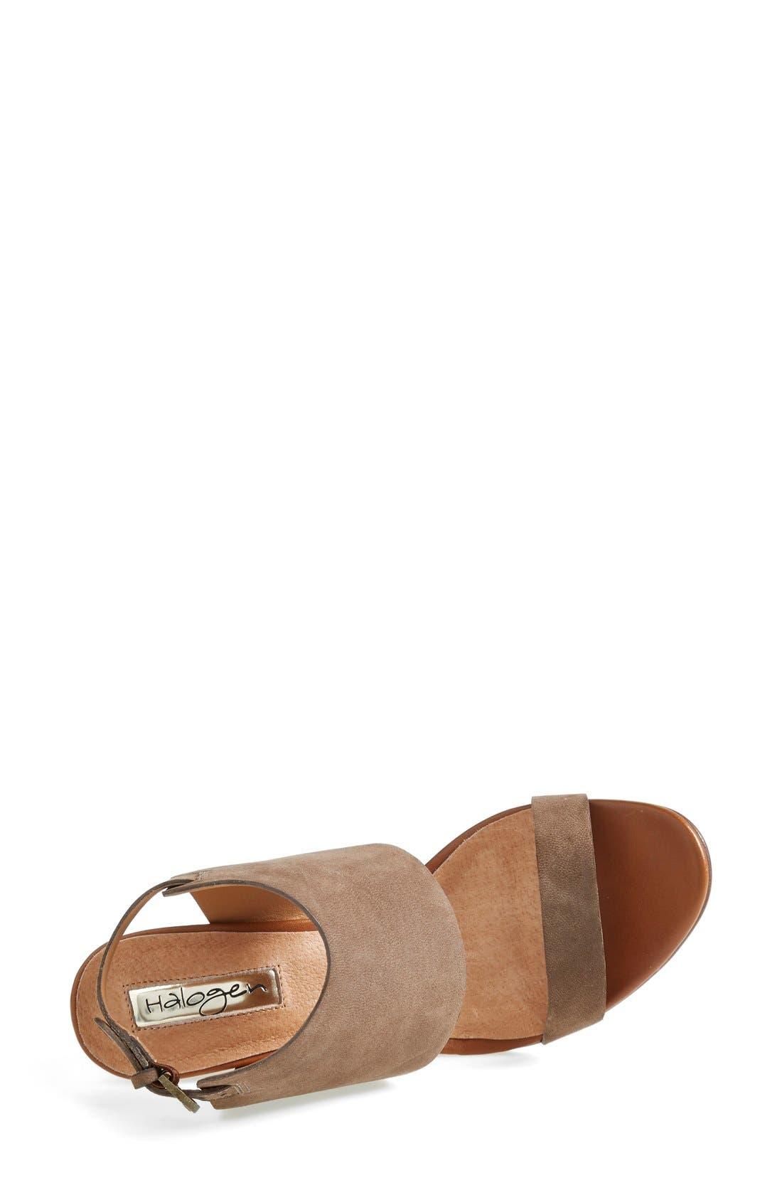 Alternate Image 3  - Halogen® 'Clarette' Wedge Sandal (Women)