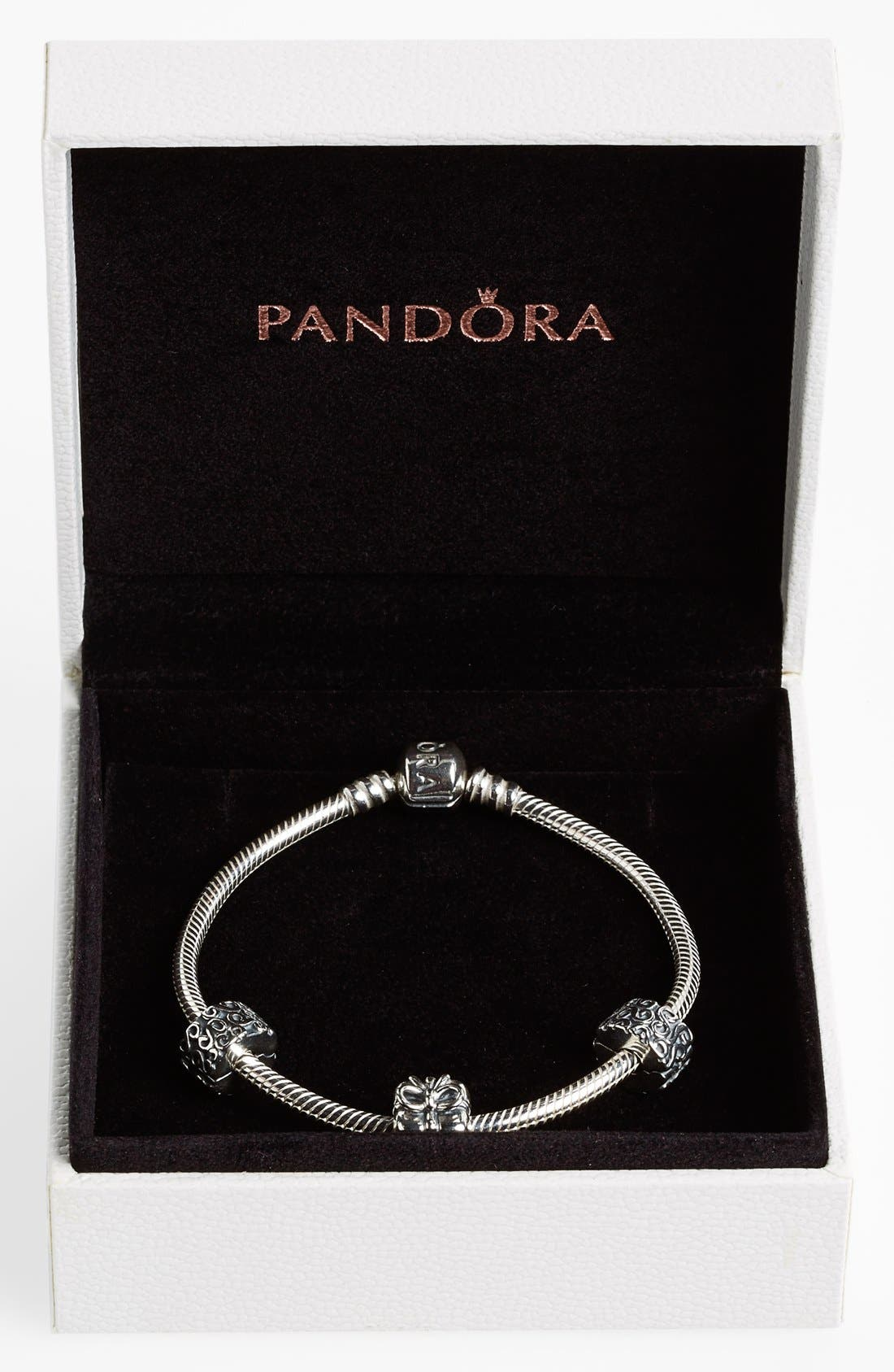 Alternate Image 2  - PANDORA Boxed Holiday Bracelet Gift Set (Limited Edition) ($160 Value)