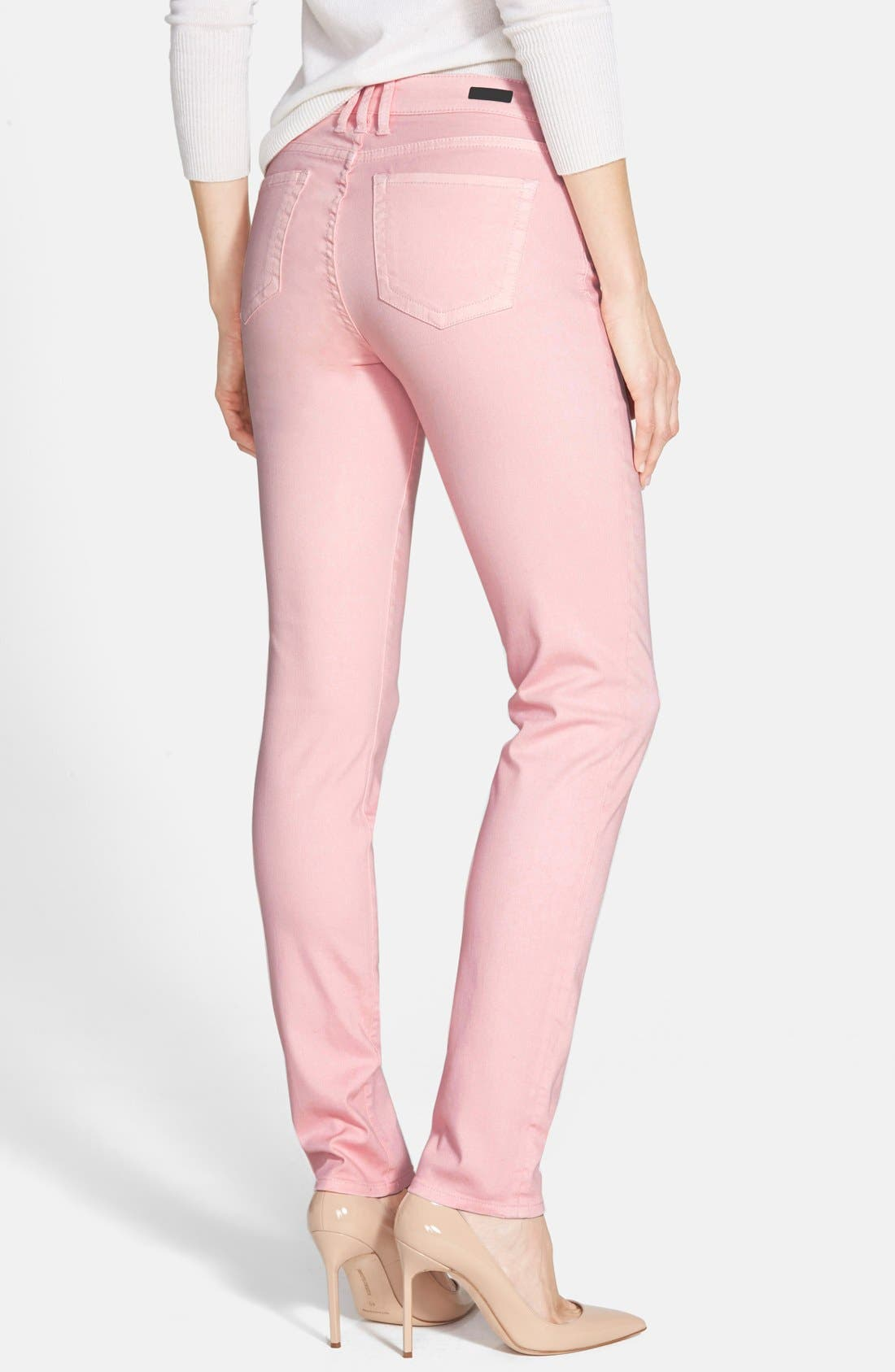 Alternate Image 2  - KUT from the Kloth 'Diana' Colored Stretch Skinny Jeans
