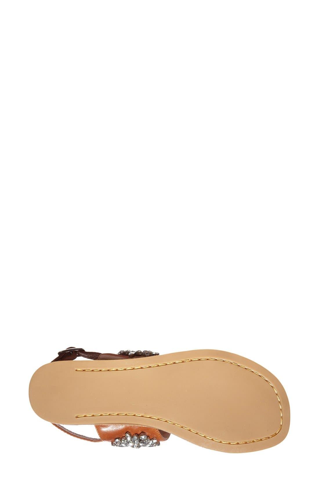 Alternate Image 4  - Jeffrey Campbell 'Dola' Jeweled Leather Sandal (Women)