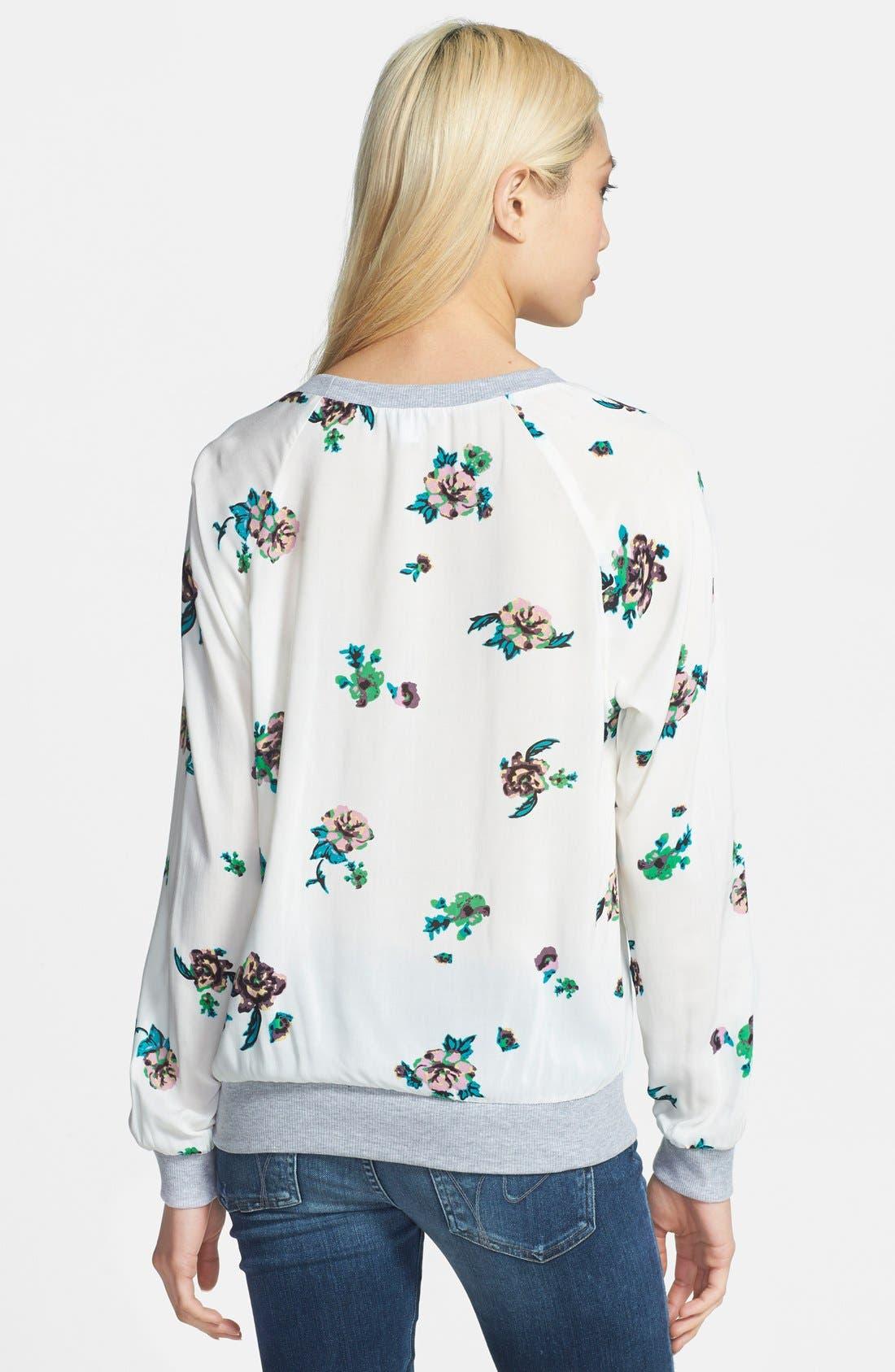 Alternate Image 2  - Splendid 'Ashbury Blooms' Print Pullover