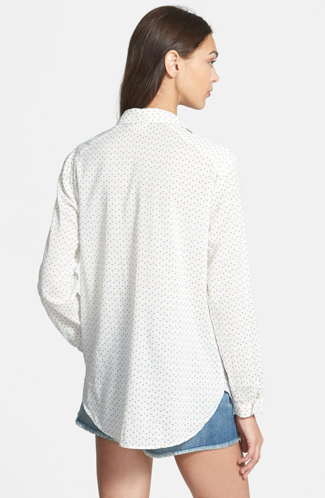 Alternate Image 2  - Ace Delivery Ditsy Floral Shirt