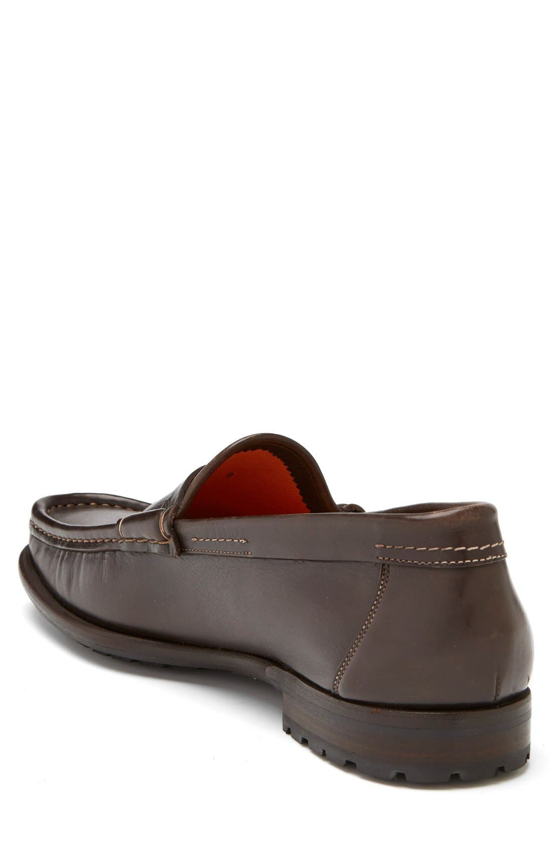 Alternate Image 2  - Santoni 'Quint' Penny Loafer
