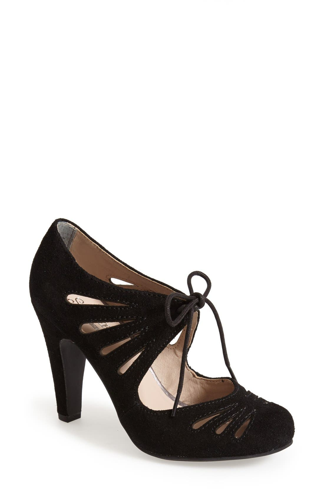 Alternate Image 1 Selected - Seychelles 'Brave' Suede Pump (Women)
