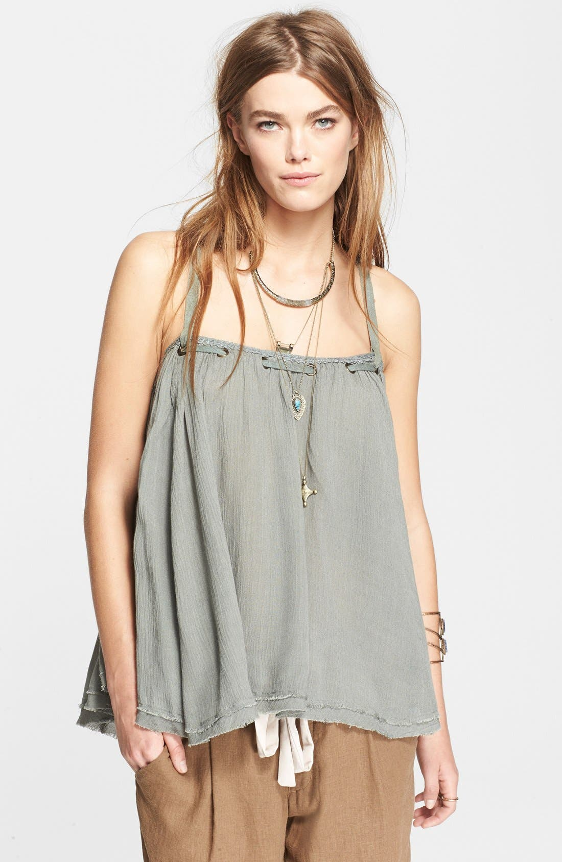 Main Image - Free People 'Waiting for You' Strappy Tank