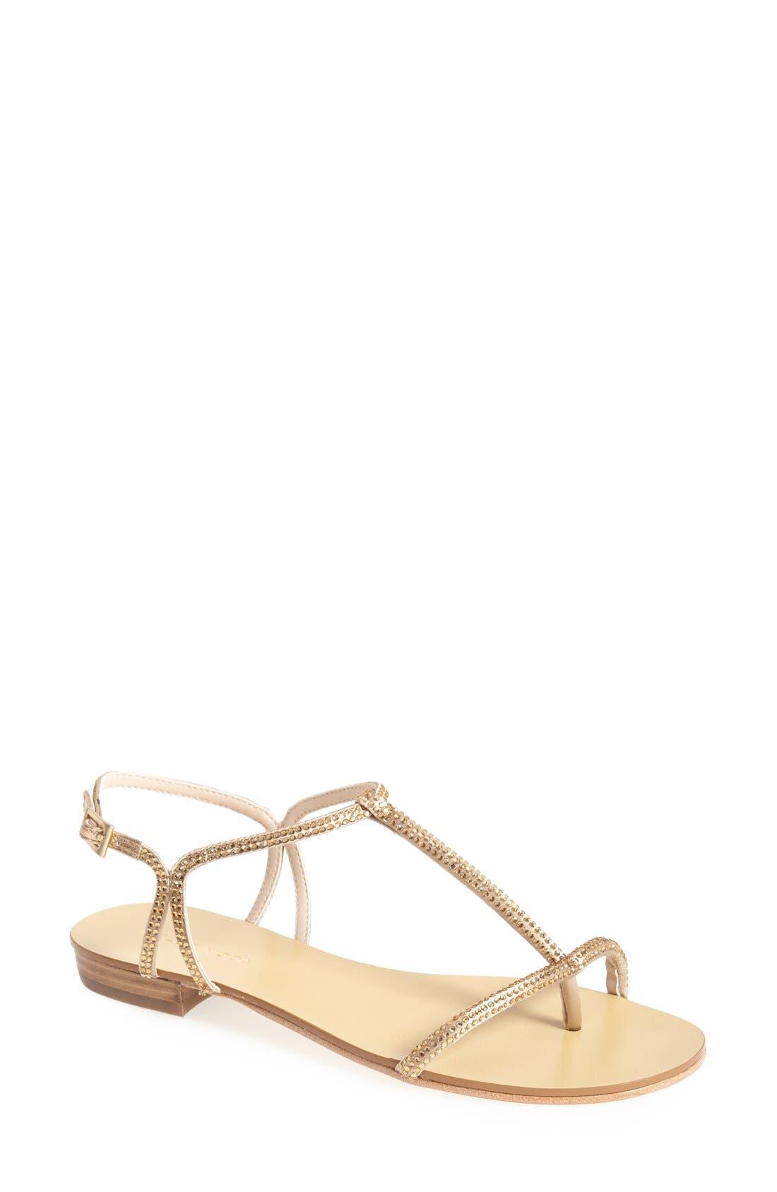 Alternate Image 1 Selected - Pelle Moda 'Becca' T Strap Thong Sandal (Women)