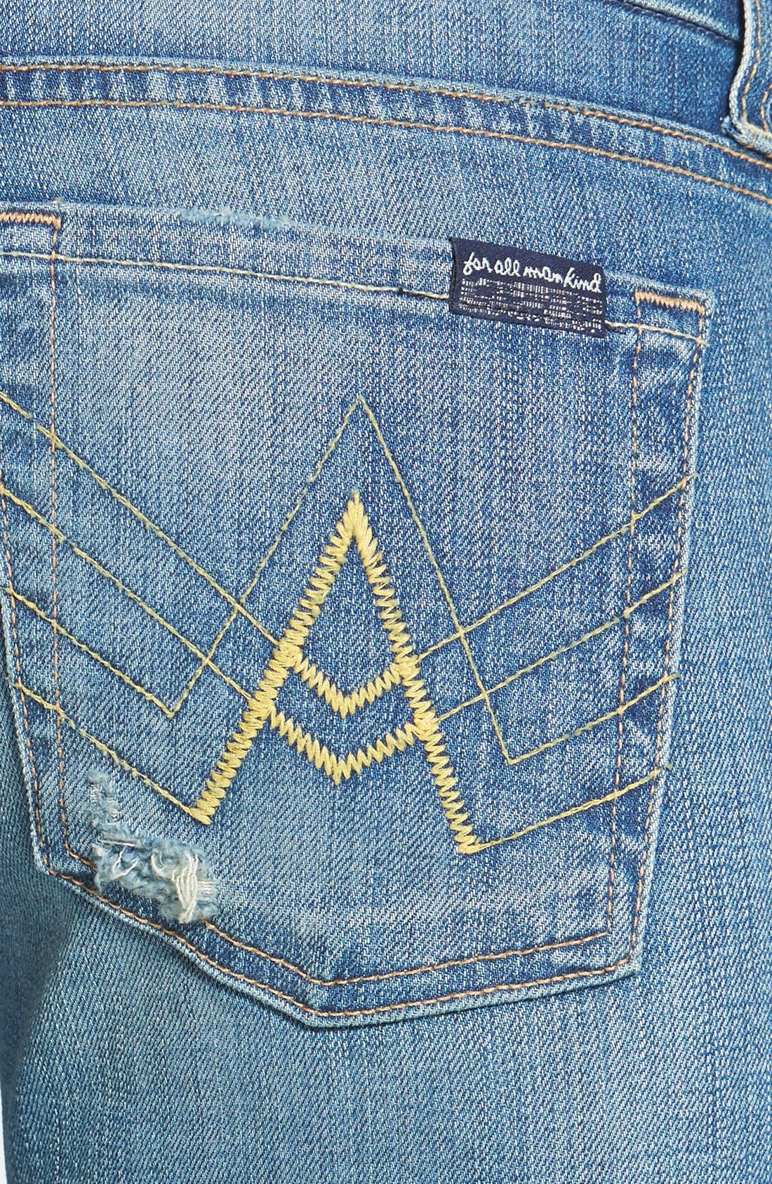 Alternate Image 3  - 7 For All Mankind® 'A Pocket' Bootcut Jeans (Dusty Vintage Blue)