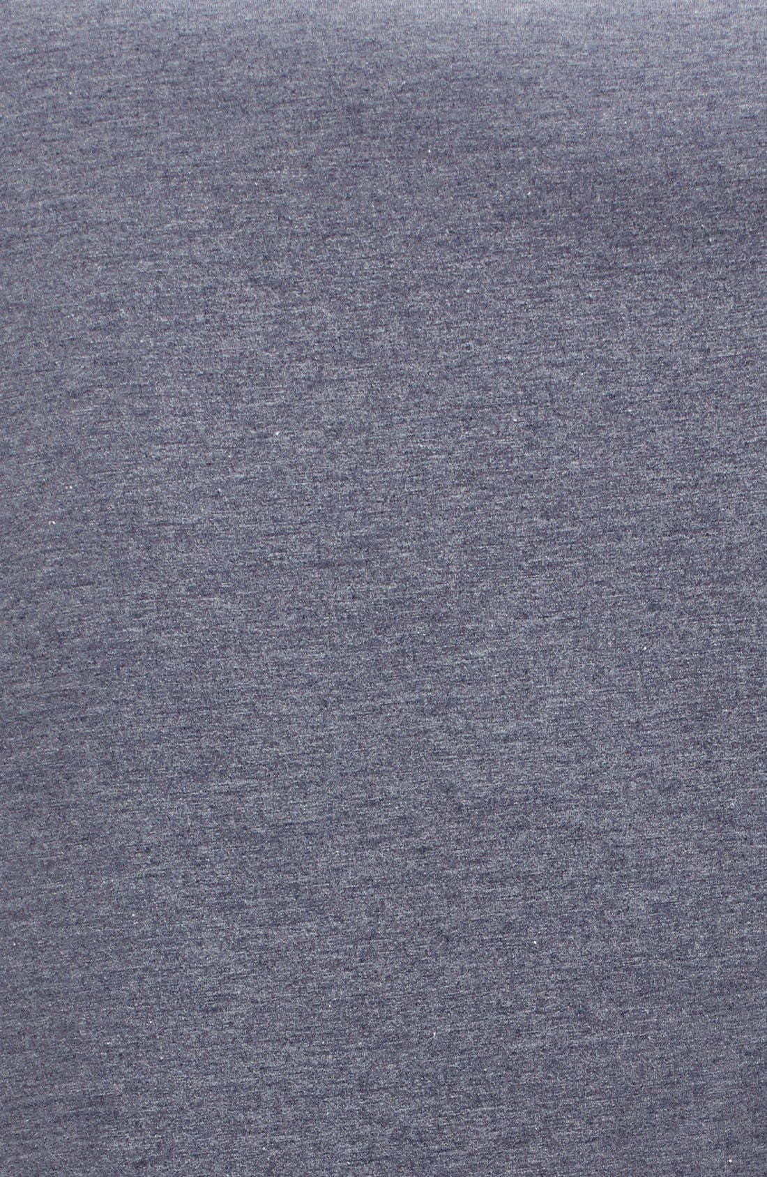 Alternate Image 2  - Nordstrom Jersey/Faux Fur Throw