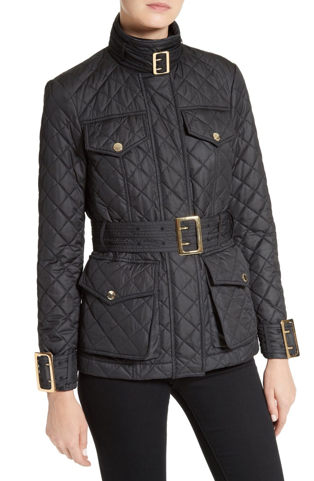 Alternate Image 6  - Burberry Haddingfield Quilted Field Jacket