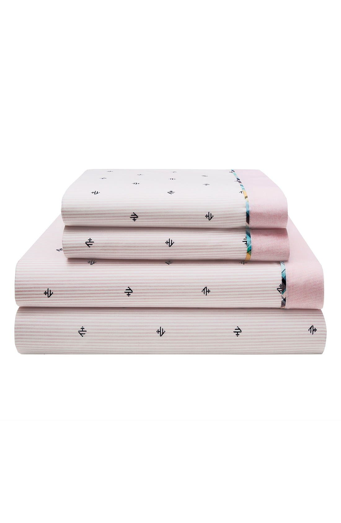 Tommy Hilfiger Harrington Monogram Sheet Set