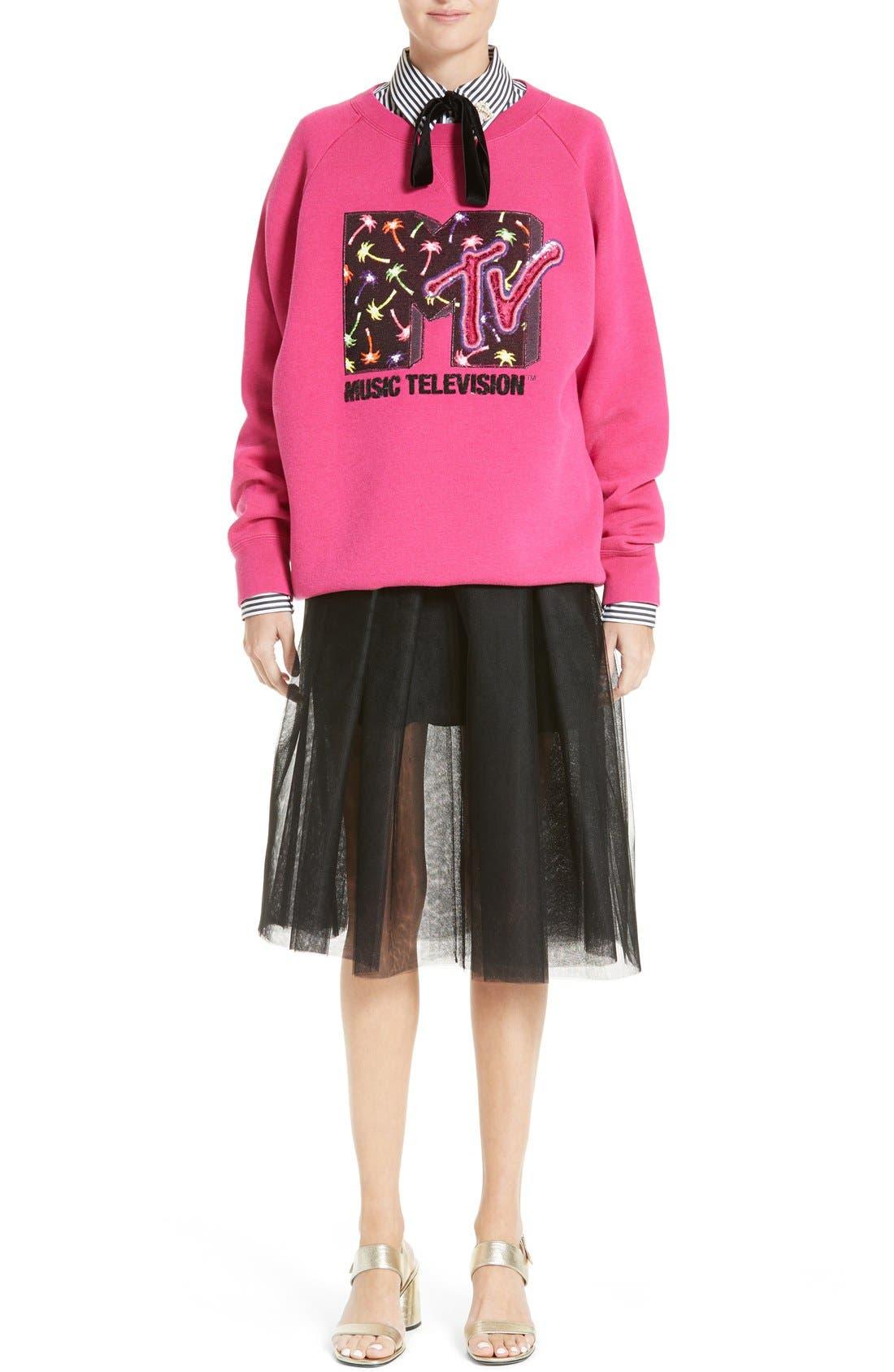Alternate Image 7  - MARC JACOBS x MTV Logo Sweatshirt