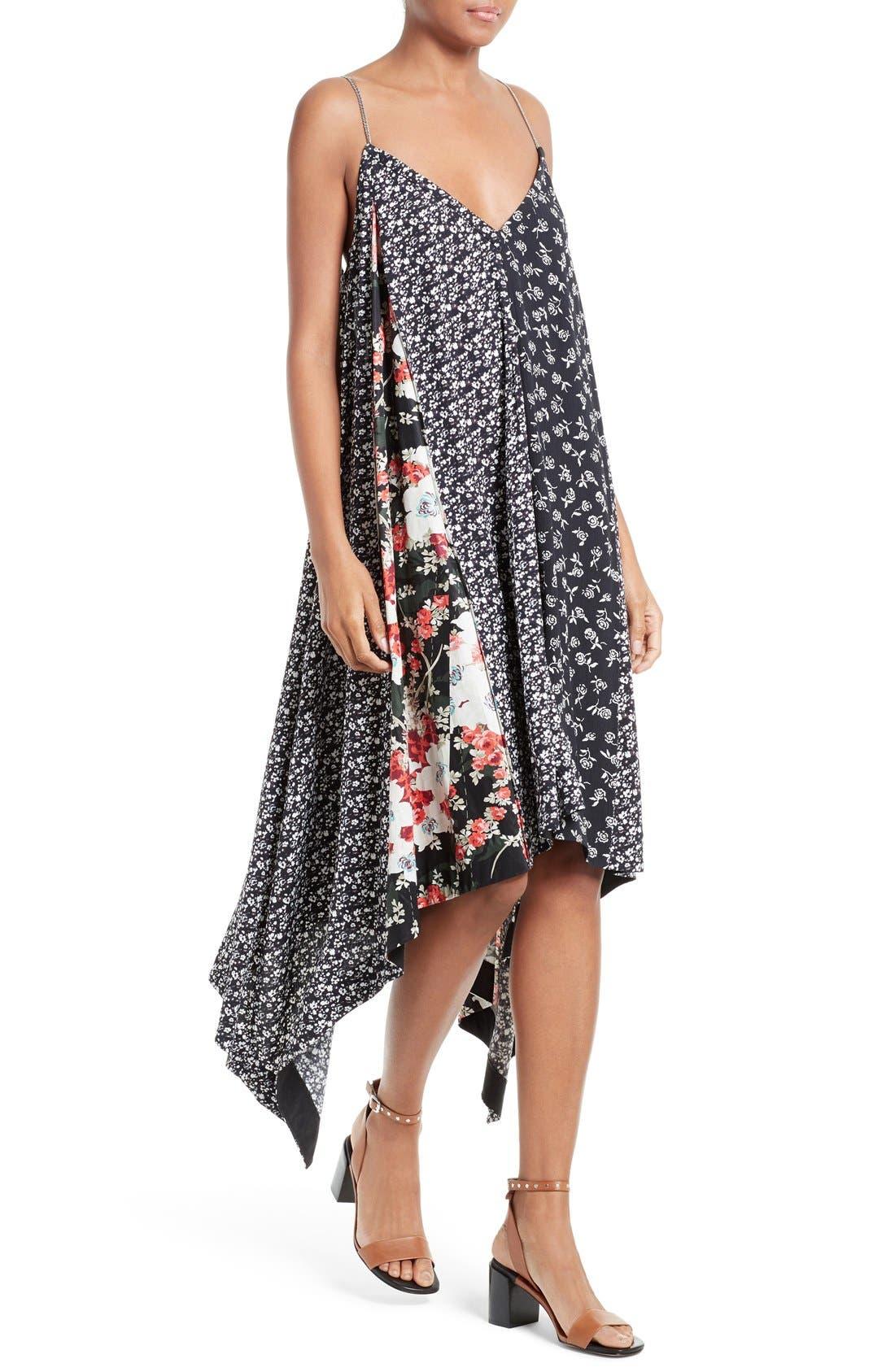 Alternate Image 4  - rag & bone Londar Print Swing Dress
