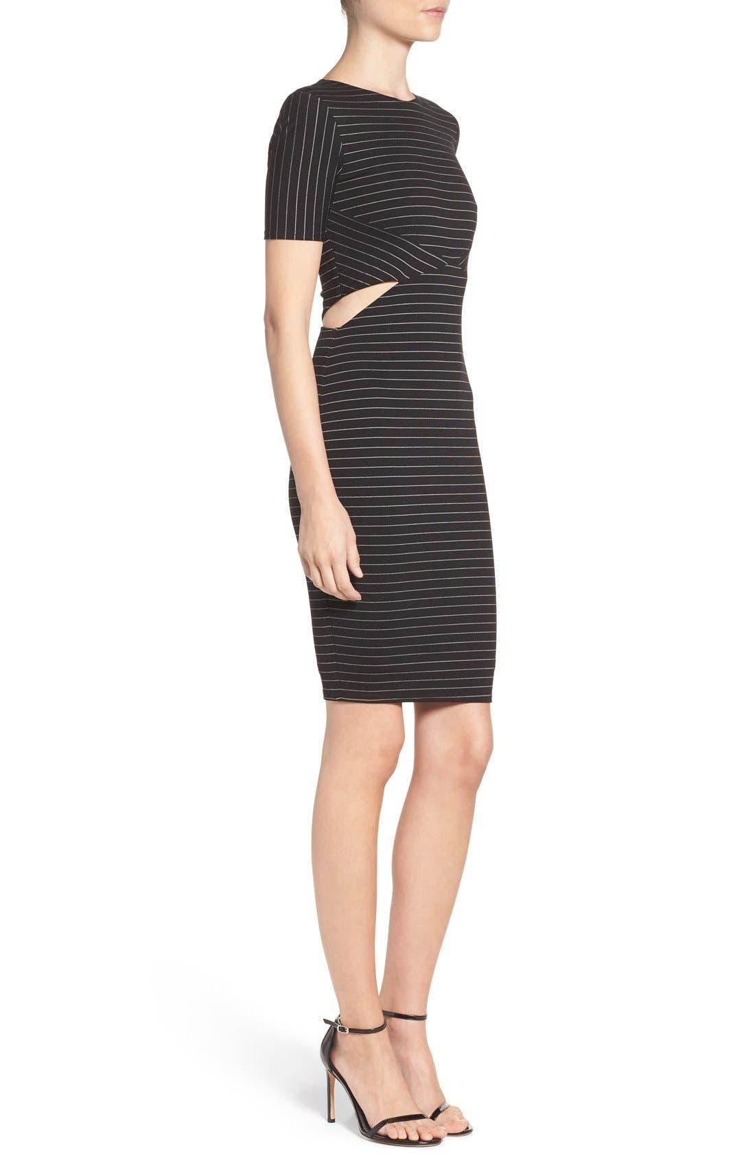 Alternate Image 4  - Ali & Jay Cutout Body-Con Dress