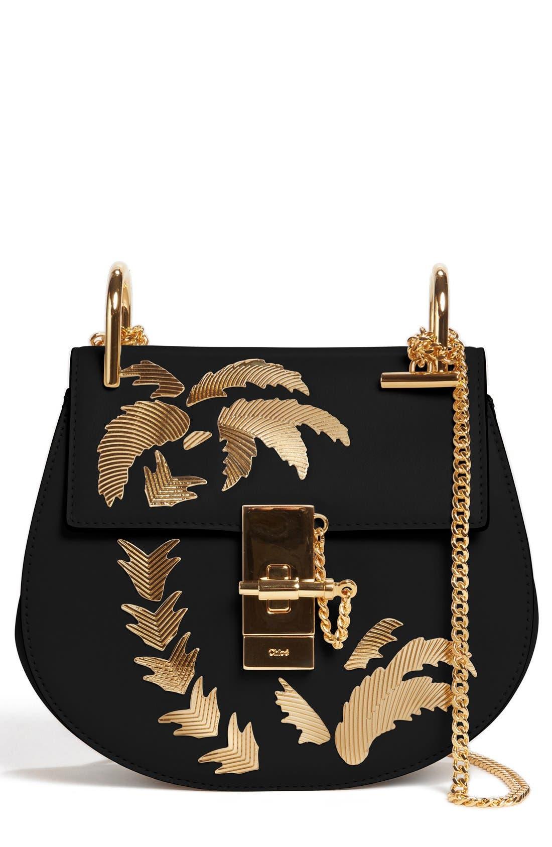 Alternate Image 1 Selected - Chloe Mini Drew Embellished Saddle Bag