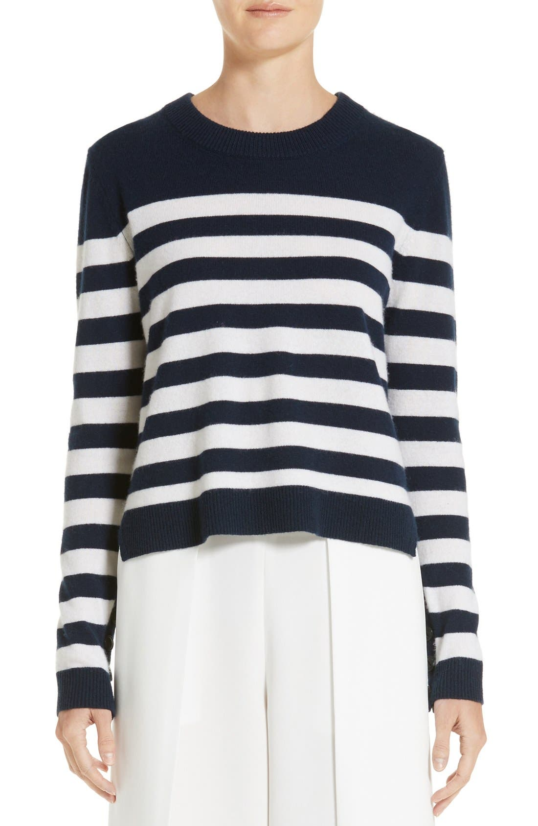 rag & bone Lillian Stripe Cashmere Sweater