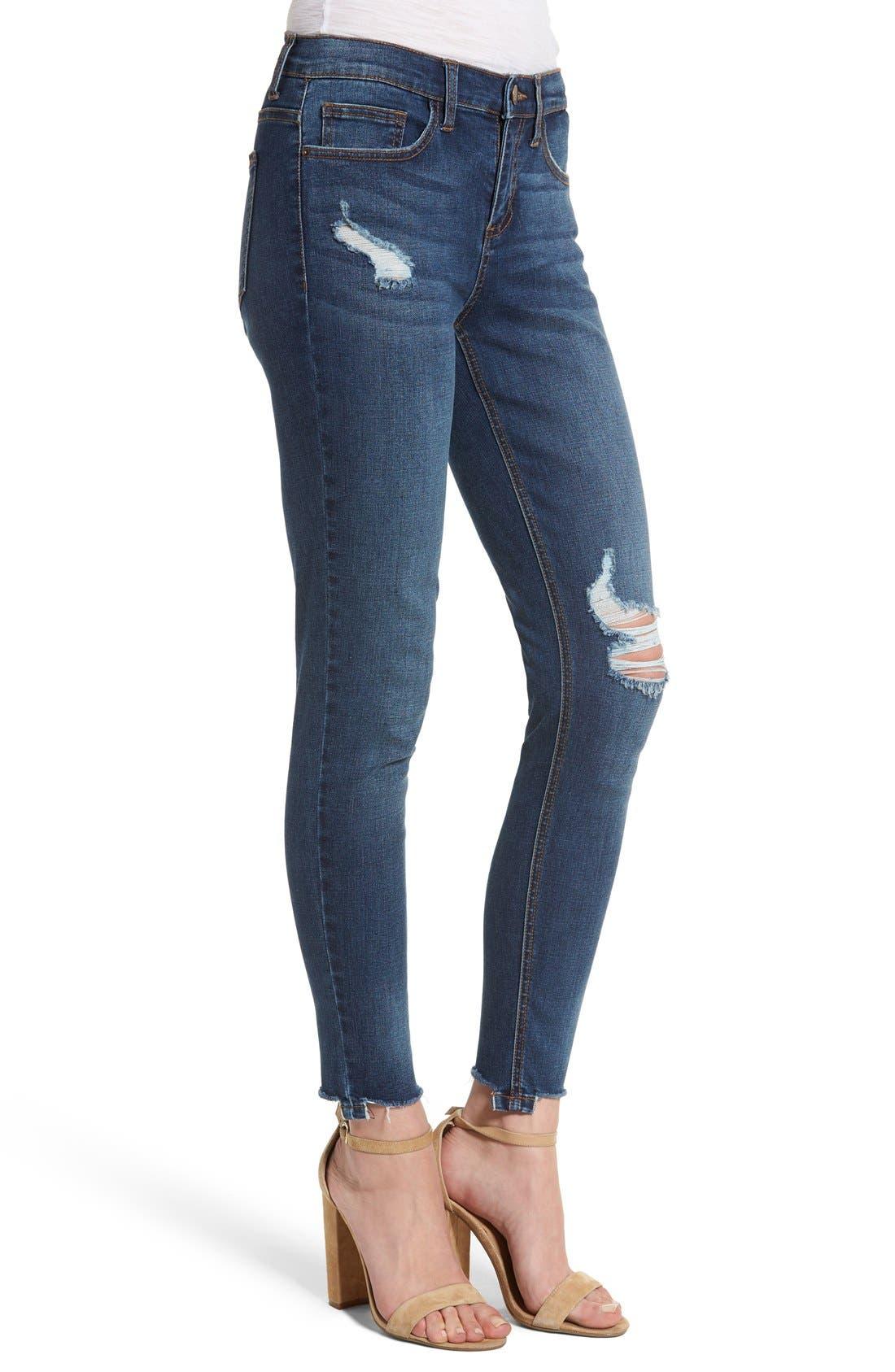 Alternate Image 3  - SP Black Decon Skinny Jeans